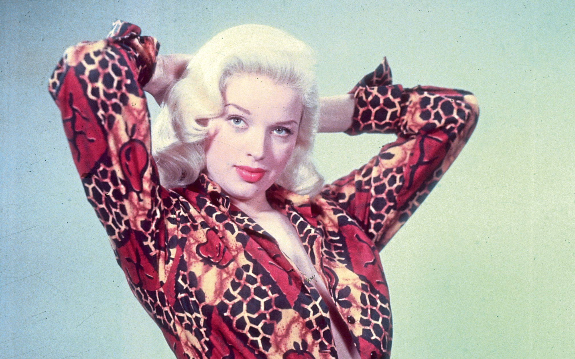 English film star Diana Dors in 1955 (Baron/Getty Images)