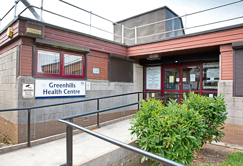 Greenhills Health Centre in East Kilbride Scotland. (Jamie Williamson)