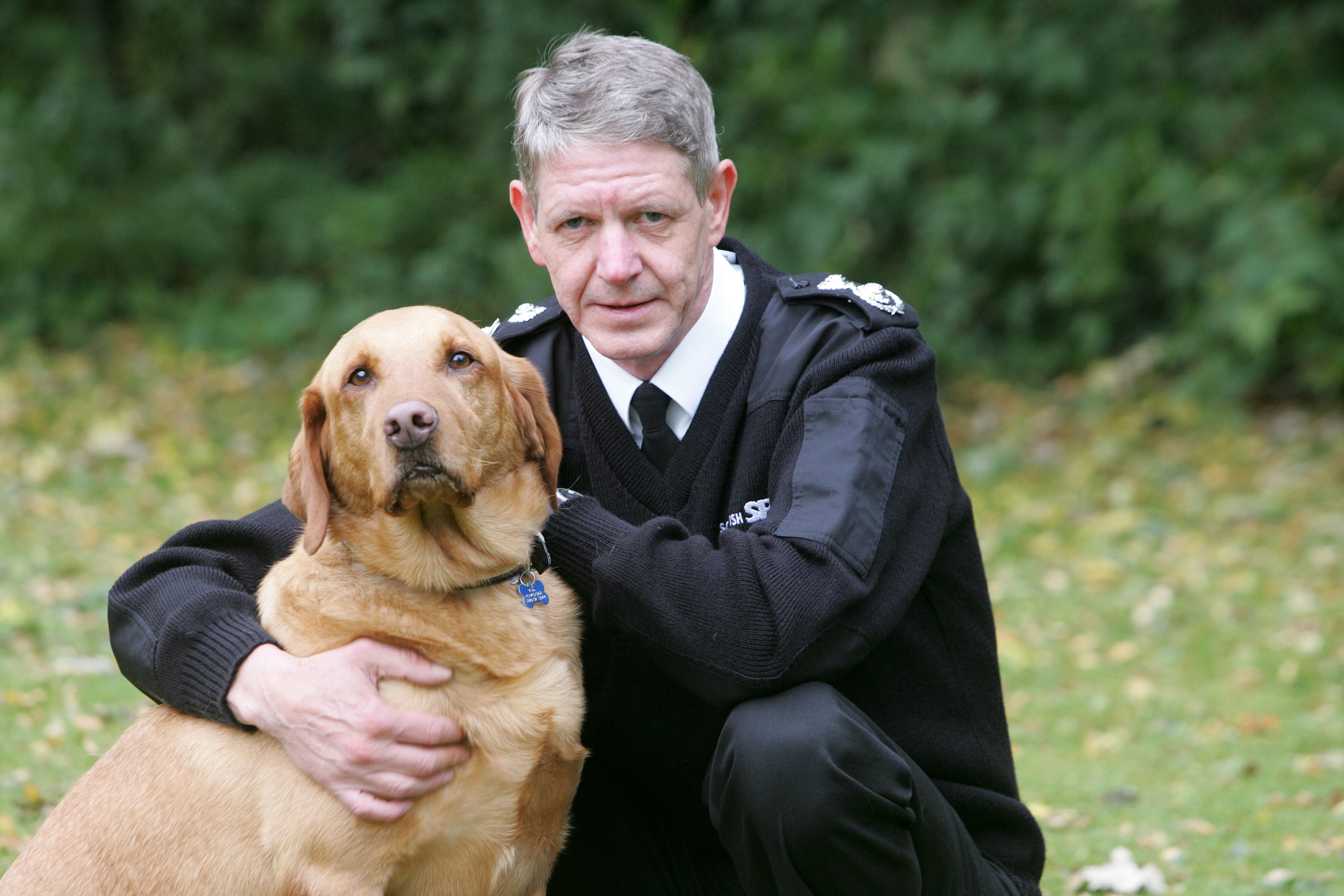 Sniffer dogs will sense out drugs on the islands (Peter Devlin)