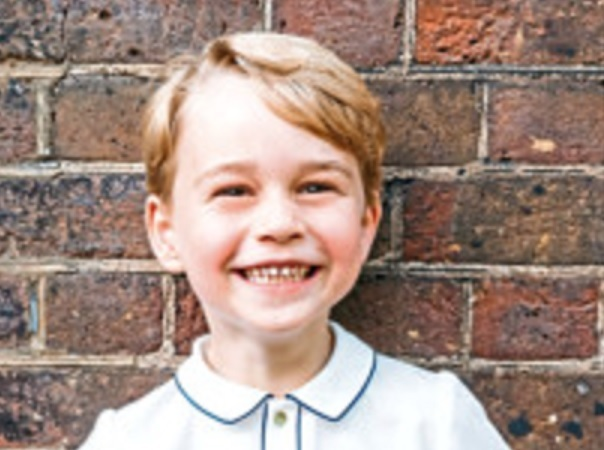 Prince George is five today.