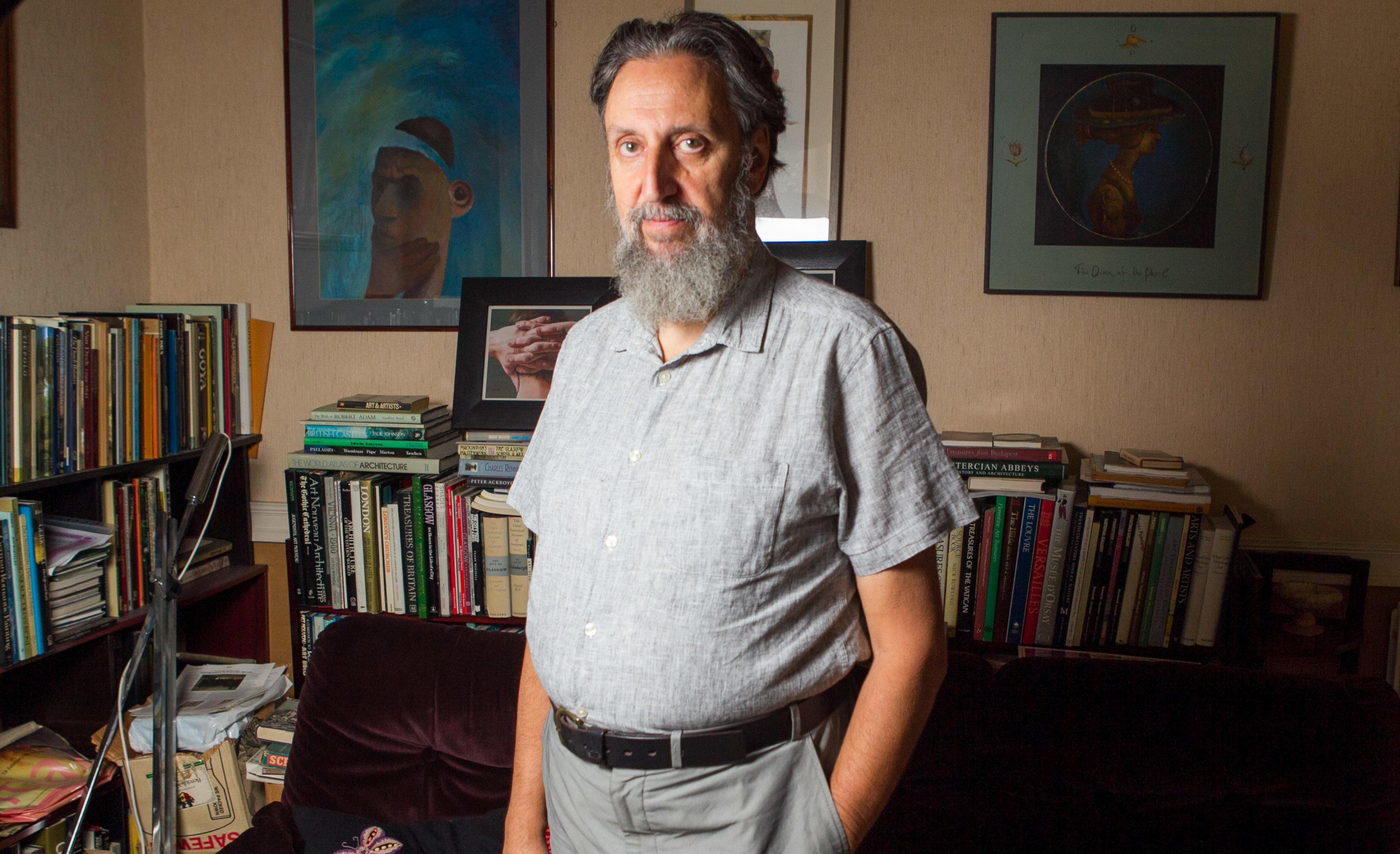 Ephraim Borowski, Covener of the Scottish Council of Jewish Communities (Chris Austin / DC Thomson)