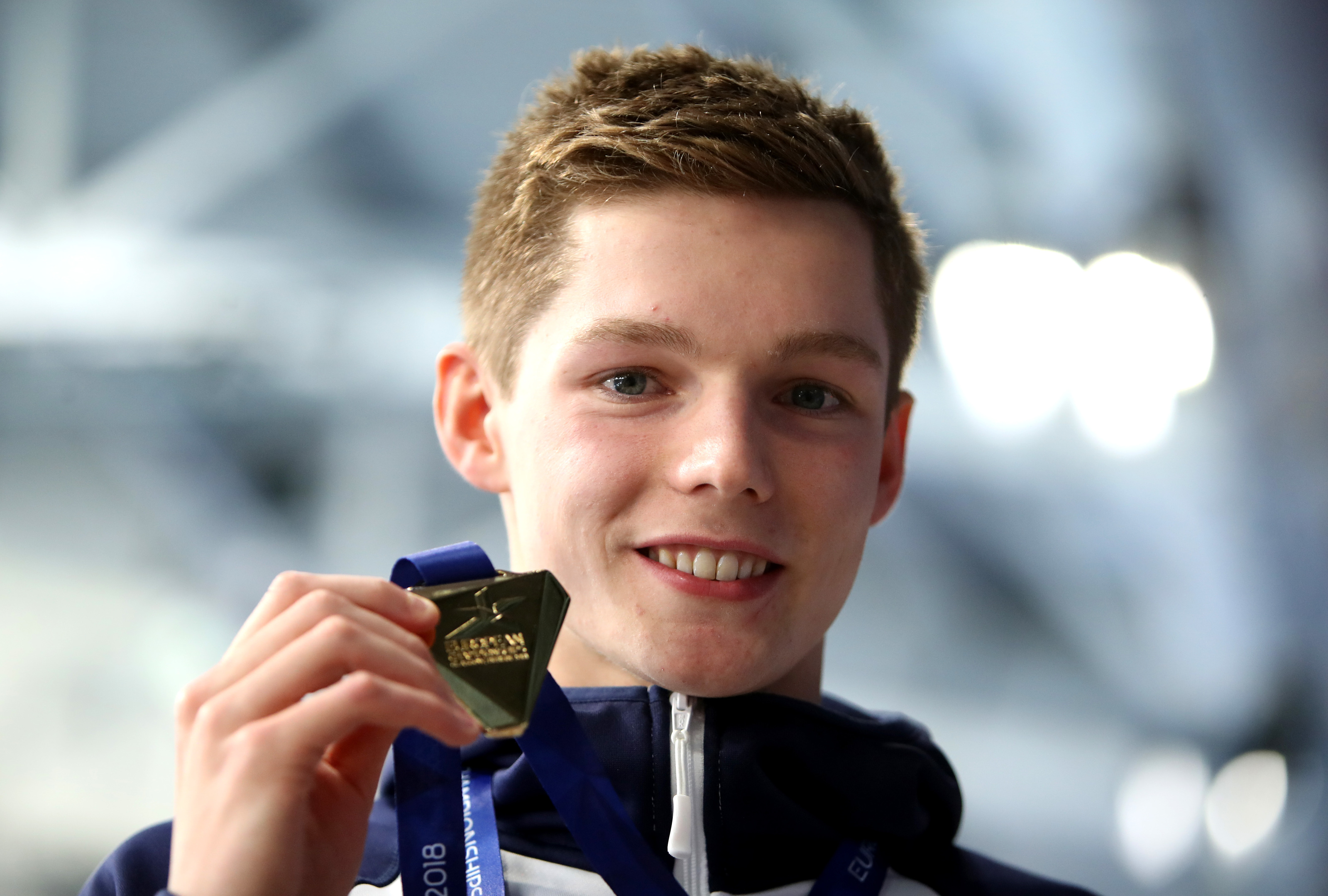 Duncan Scott with European Championship gold (Ian MacNicol/Getty Images)