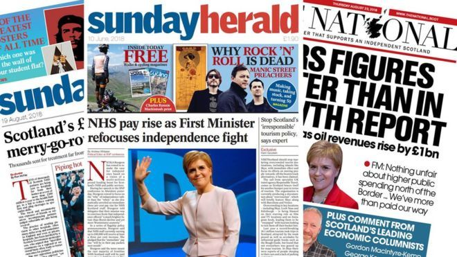 The Sunday Herald will cease publication next month after 19 years.
