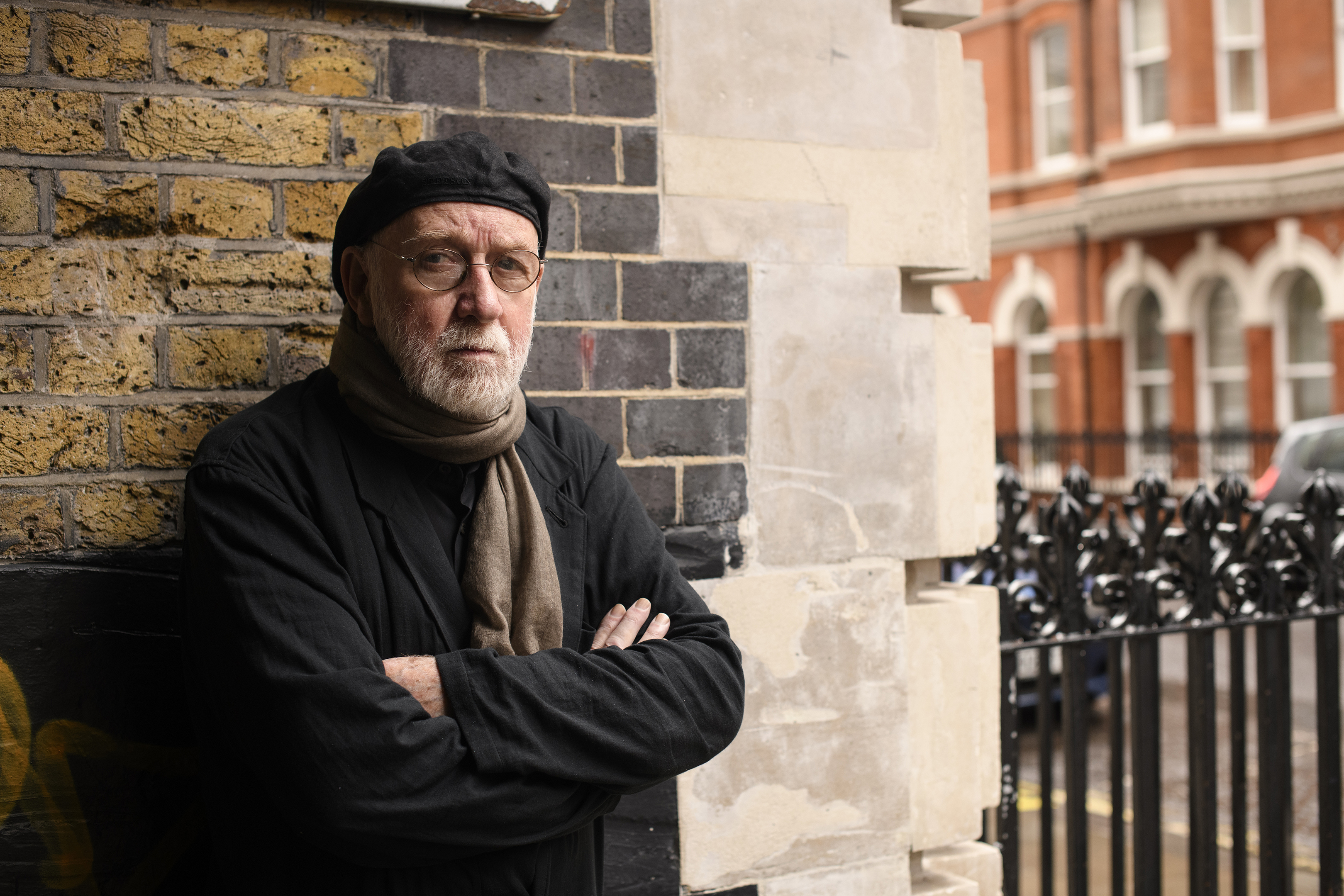 Renowned photographer Albert Watson in London last week (Justin Griffiths-Williams)