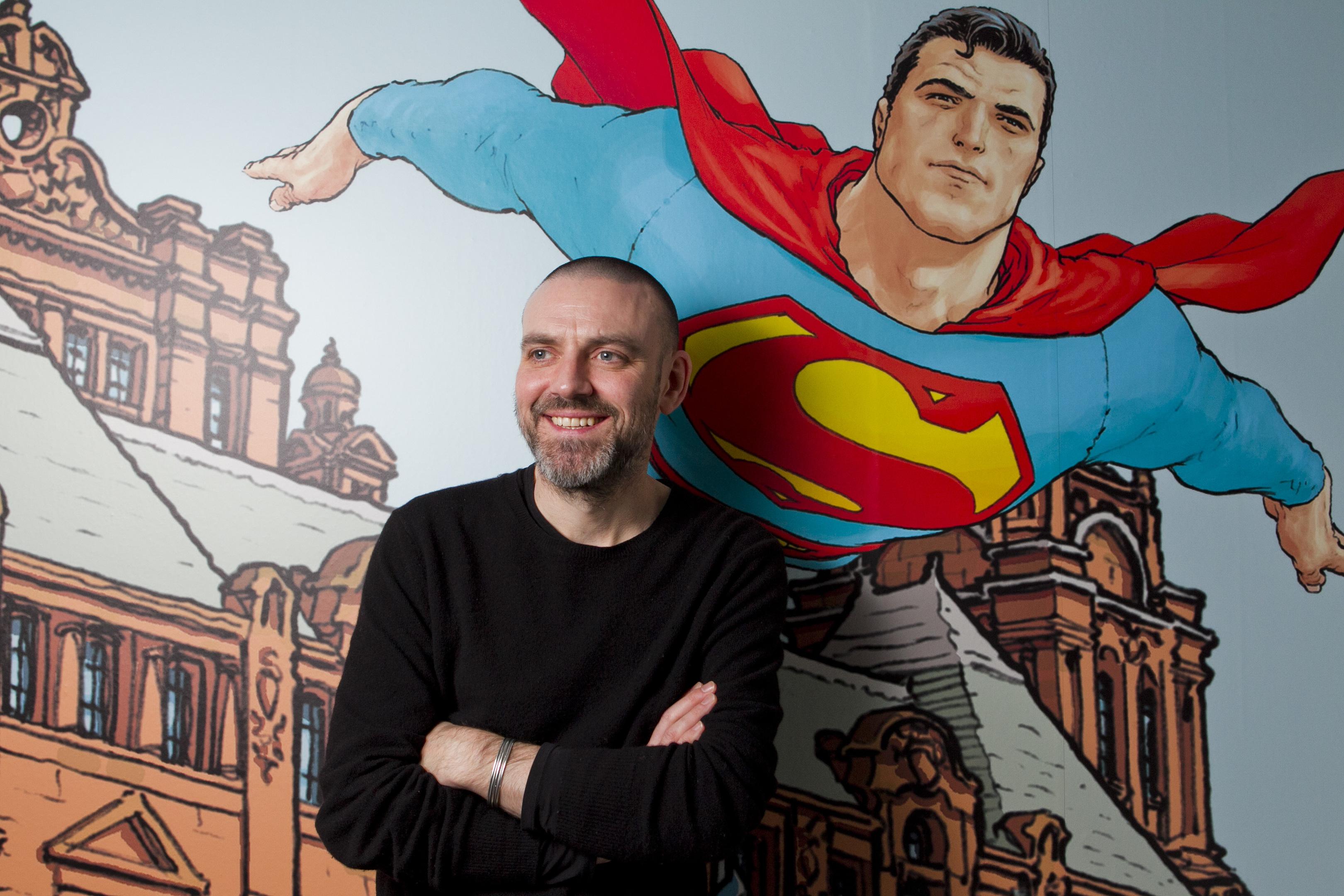 Comic artist Frank Quitely