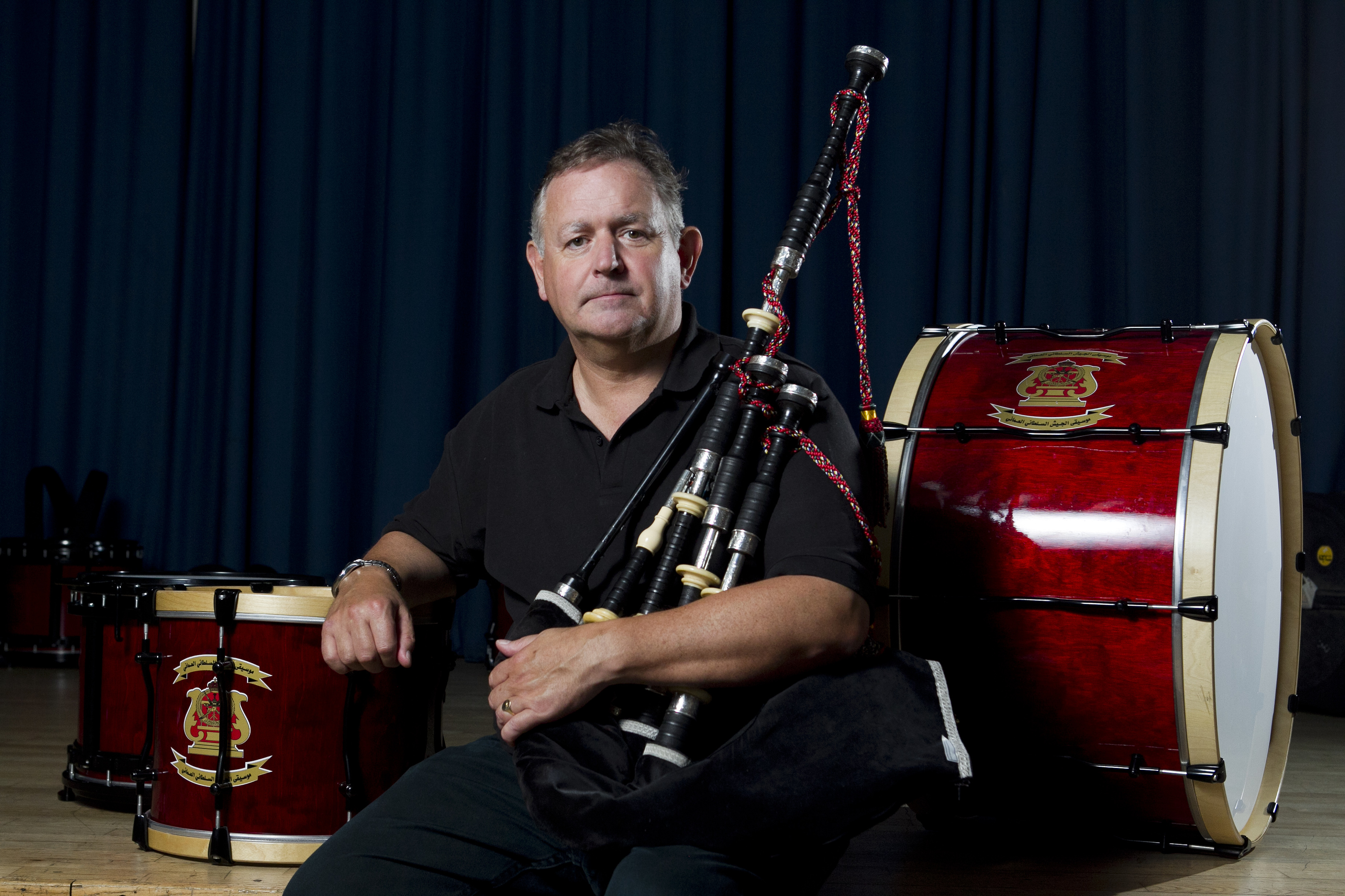 Roddy MacLeod, principal of the Glasgow Piping Centre (Andrew Cawley / DC Thomson)