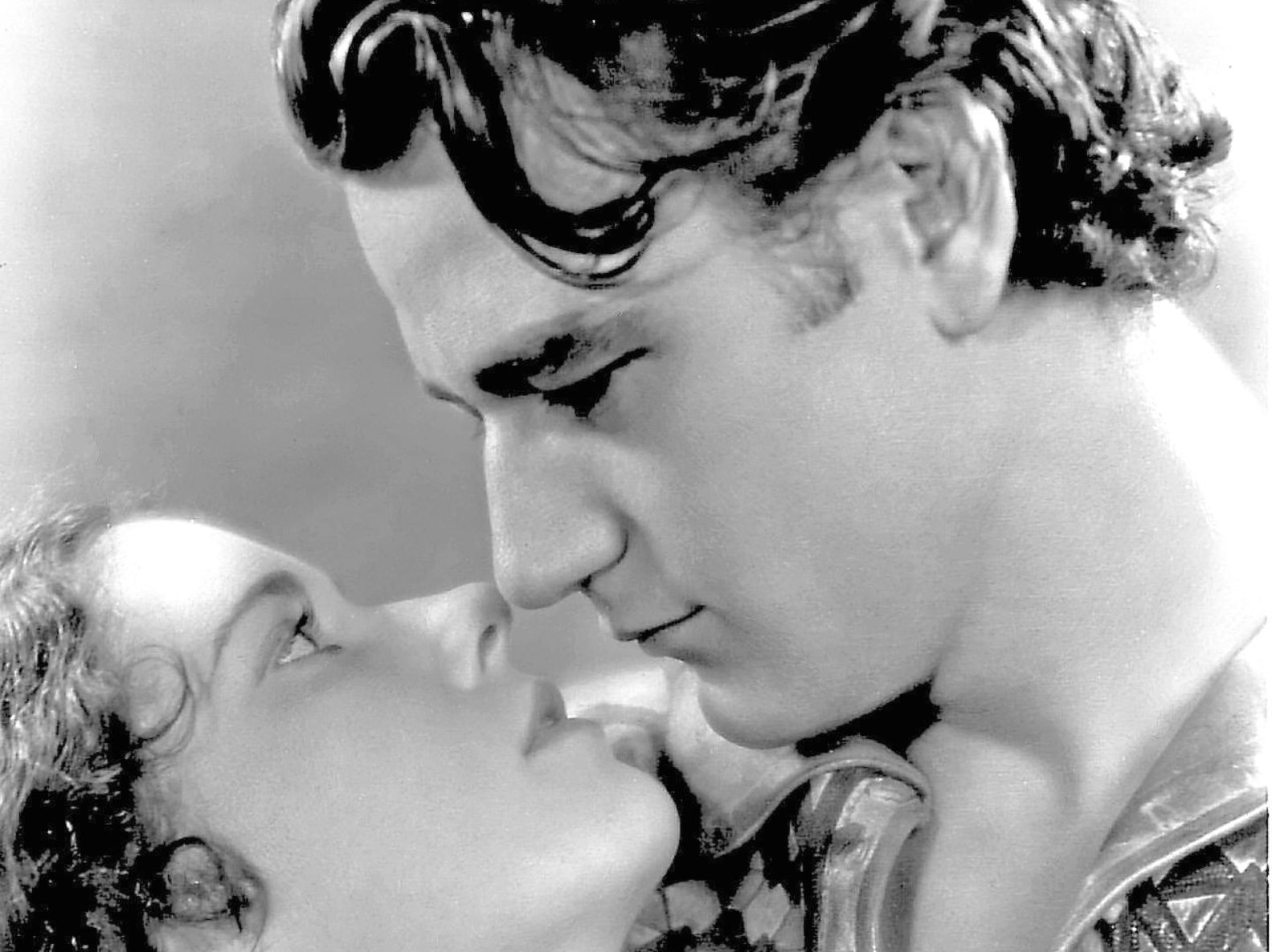 John Wayne and Marguerite Churchill in 1930 film The Big Trail (Allstar/FOX FILM CORPORATION)