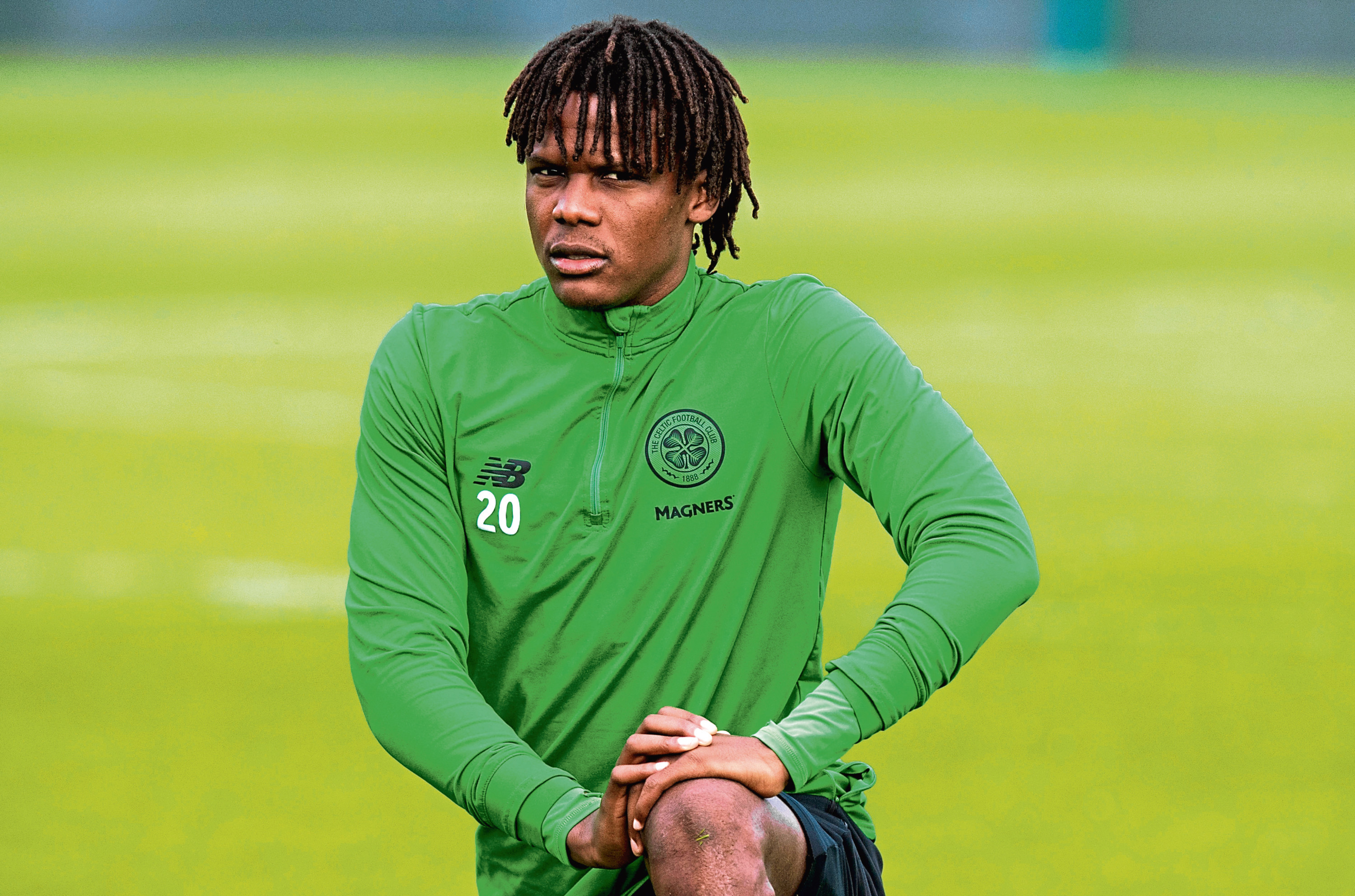 Celtic's Dedryck Boyata in training (SNS Group)
