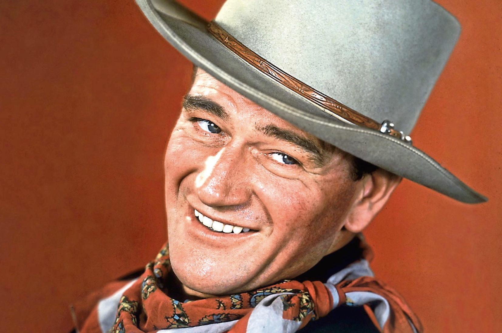 John Wayne in Tall In The Saddle, 1944 (Allstar/RKO)