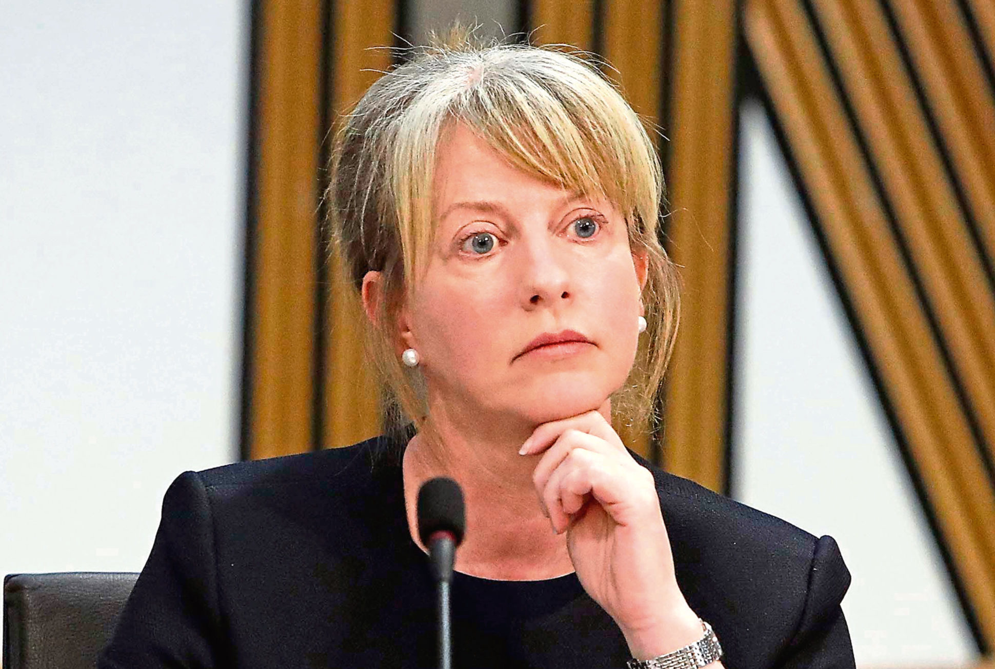 Former Health Secretary Shona Robison (Andrew Cowan/Scottish Parliament)