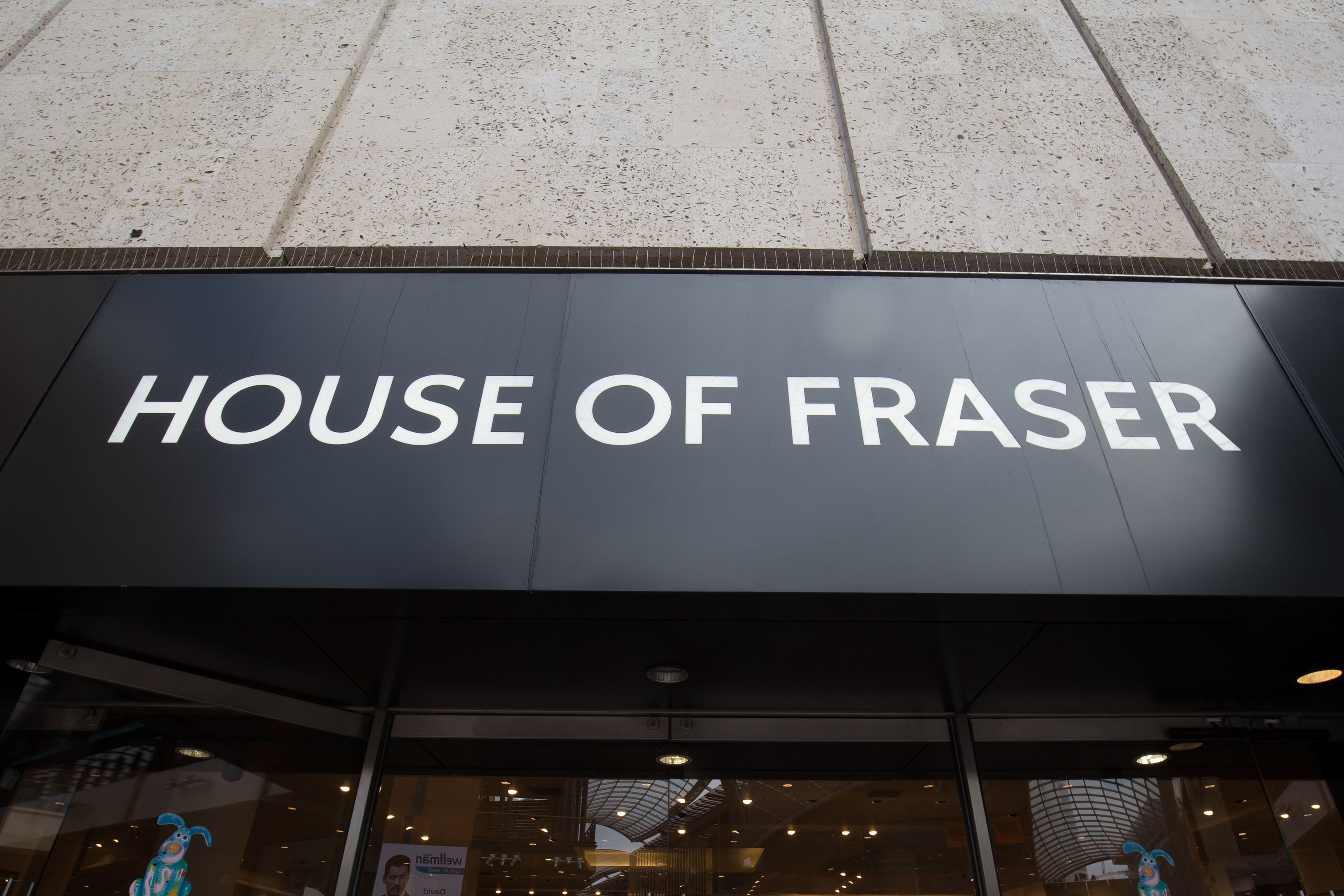 A House of Fraser store (Aaron Chown/PA Wire)