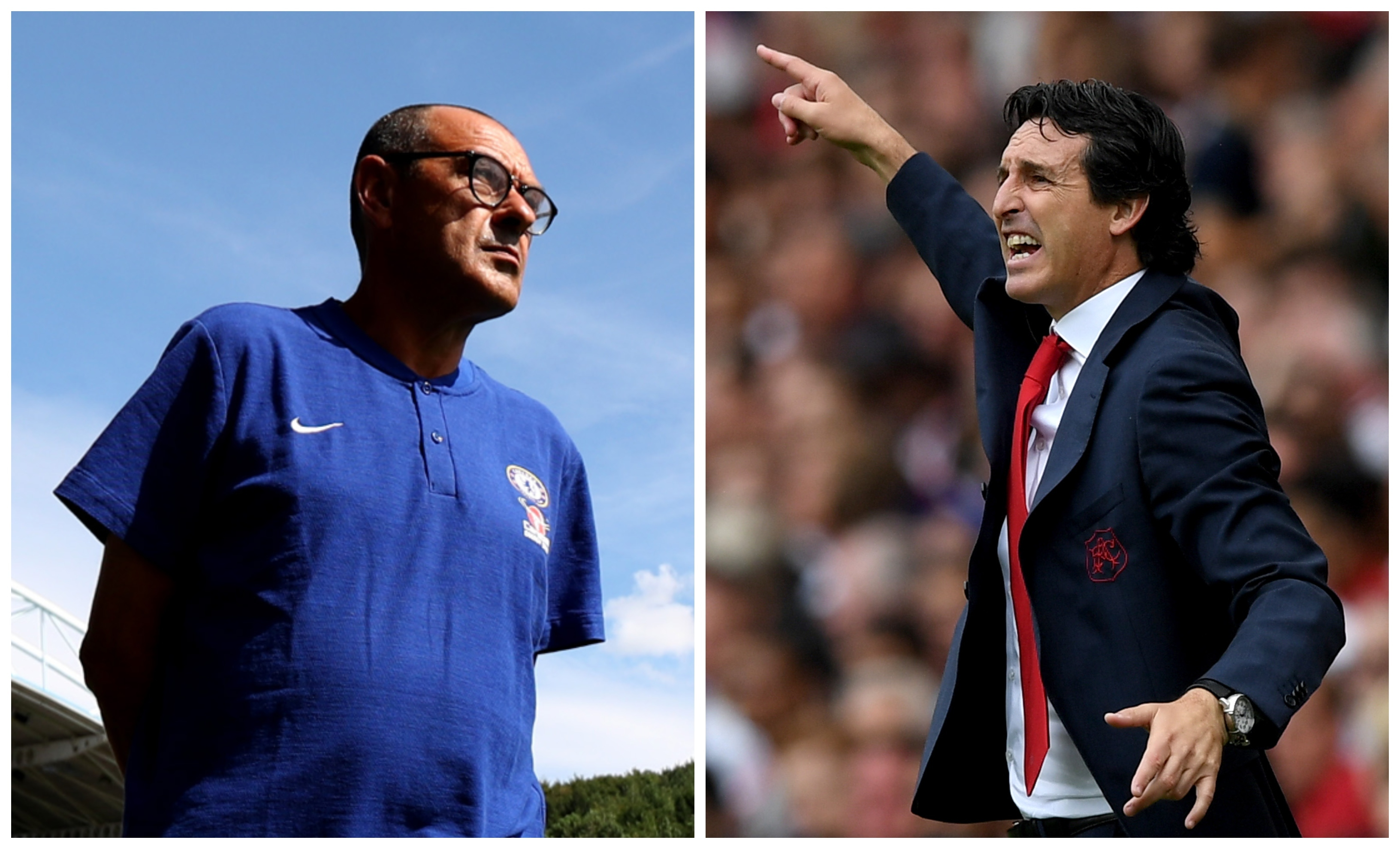 The two managers will come face to face this weekend (Matthew Lewis  & Shaun Cotterill / Getty Images)