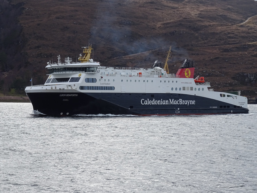Calmac ferry Loch Seaforth (Ross Crae / DC Thomson)