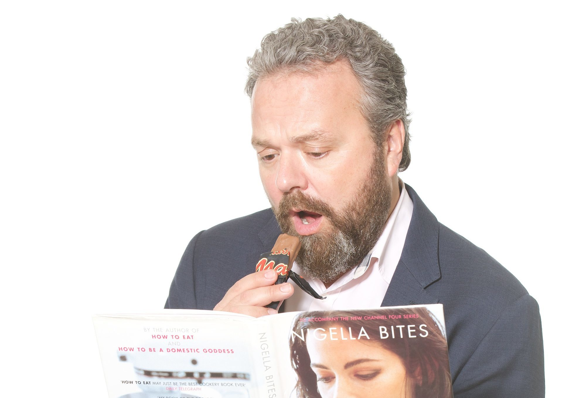 Hal Cruttenden admits to eating too much sweet stuff