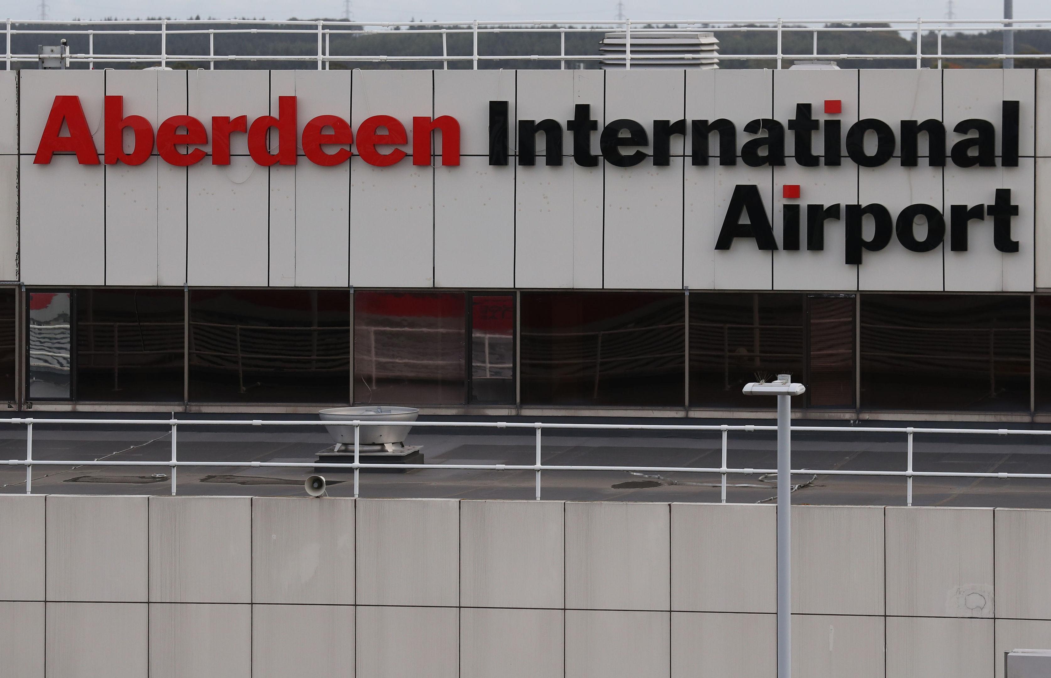 Aberdeen International Airport (Andrew Milligan/PA Wire)