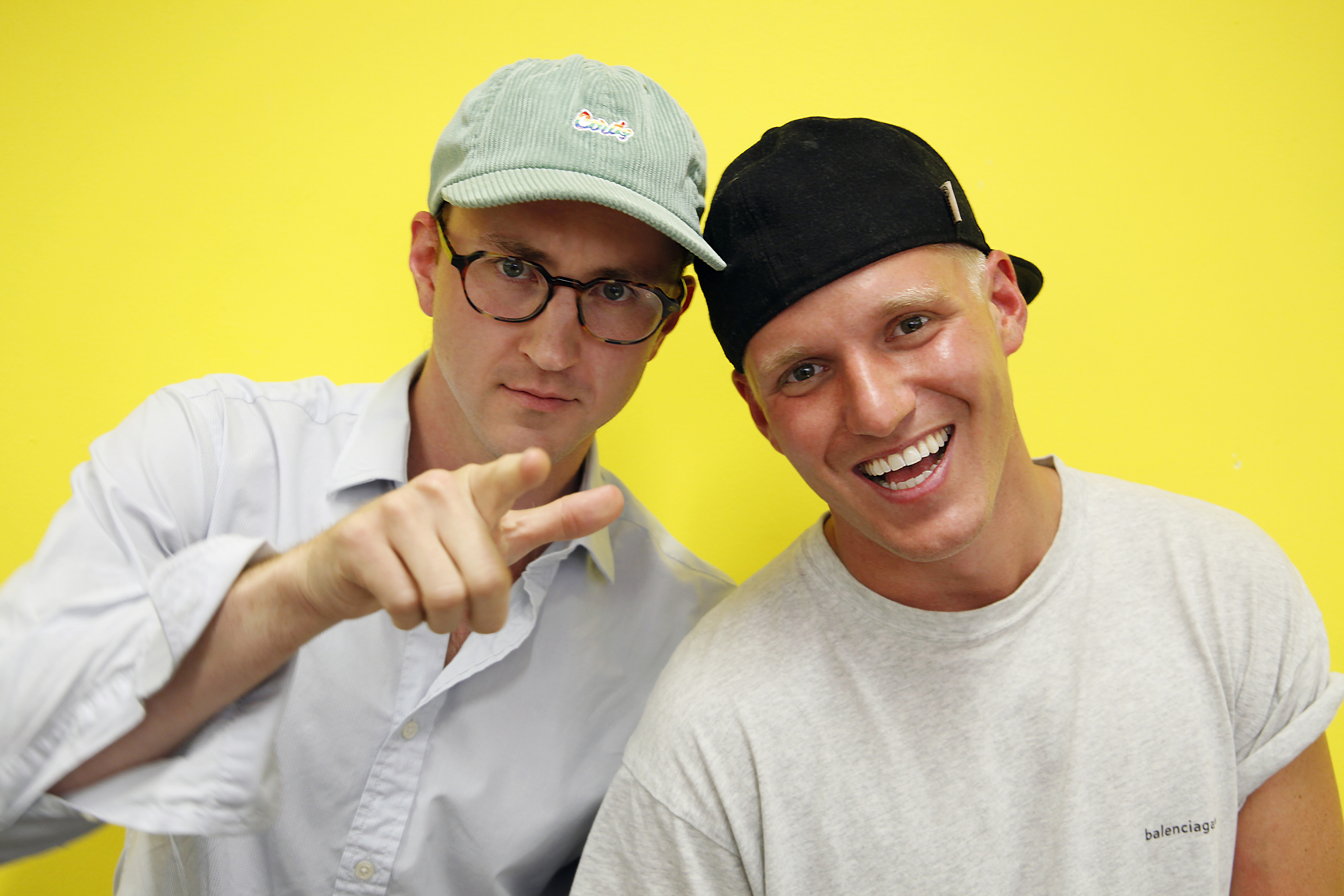 Francis Boulle and Jamie Laing are taking their podcast on tour (Spirit Media)