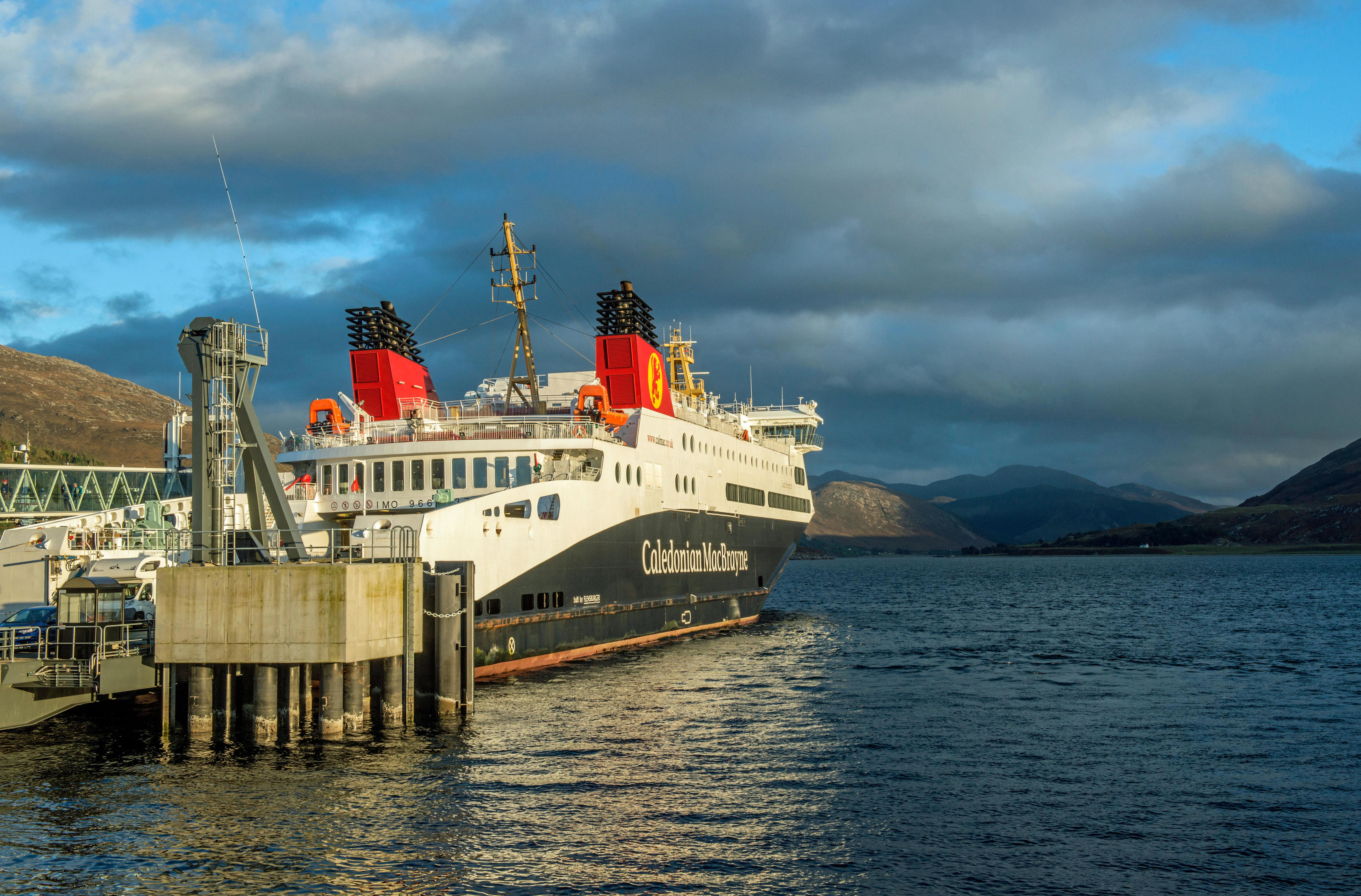 The CalMac ferry from Ullapool to Stornoway, Scotland