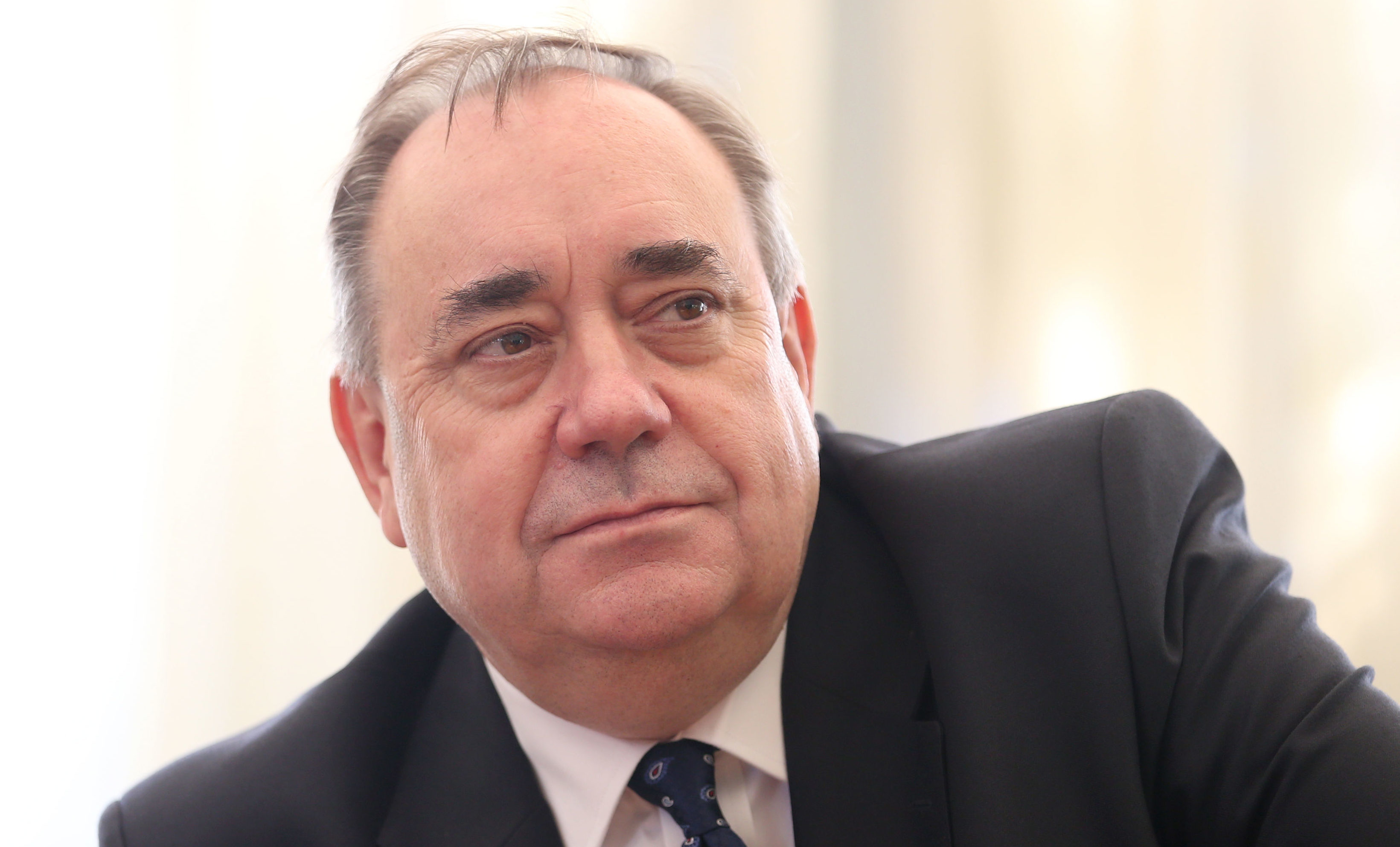 Former First Minister of Scotland Alex Salmond (Jane Barlow/PA Wire)