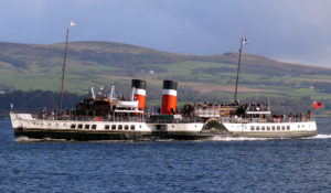 Iconic steamer Waverley paddles for the first time in almost two years after boiler refit