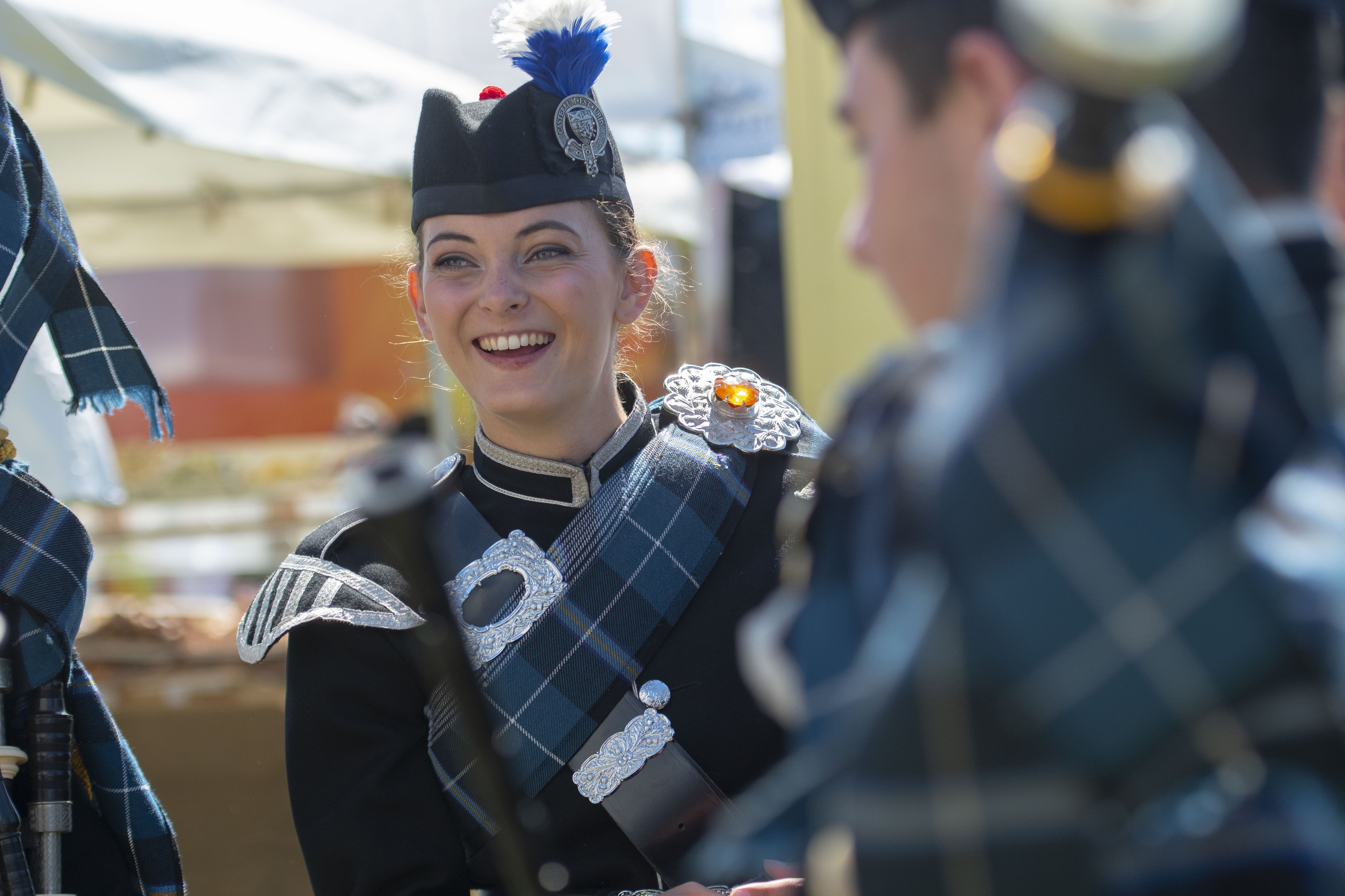 Piper Shonagh Duncan is playing for the Tattoo crowds (Phil Wilkinson)