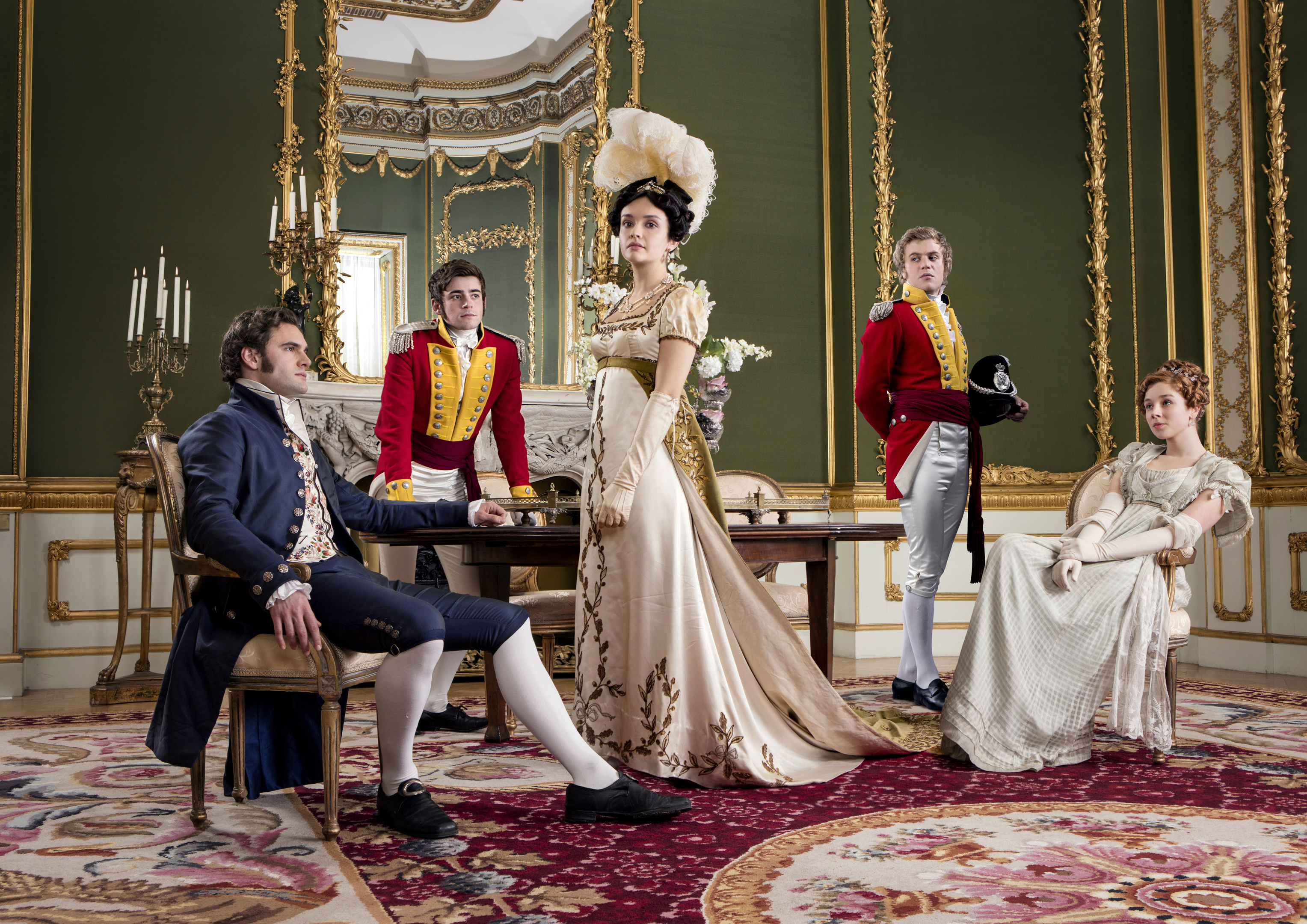 Vanity Fair starts on ITV on 2 September (ITV)