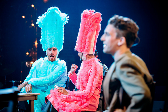 Pam Hogg's costume designs will tour the country in a new National Theatre of Scotland co-production of Cyrano de Bergerac (Mihaela Bodlovic)