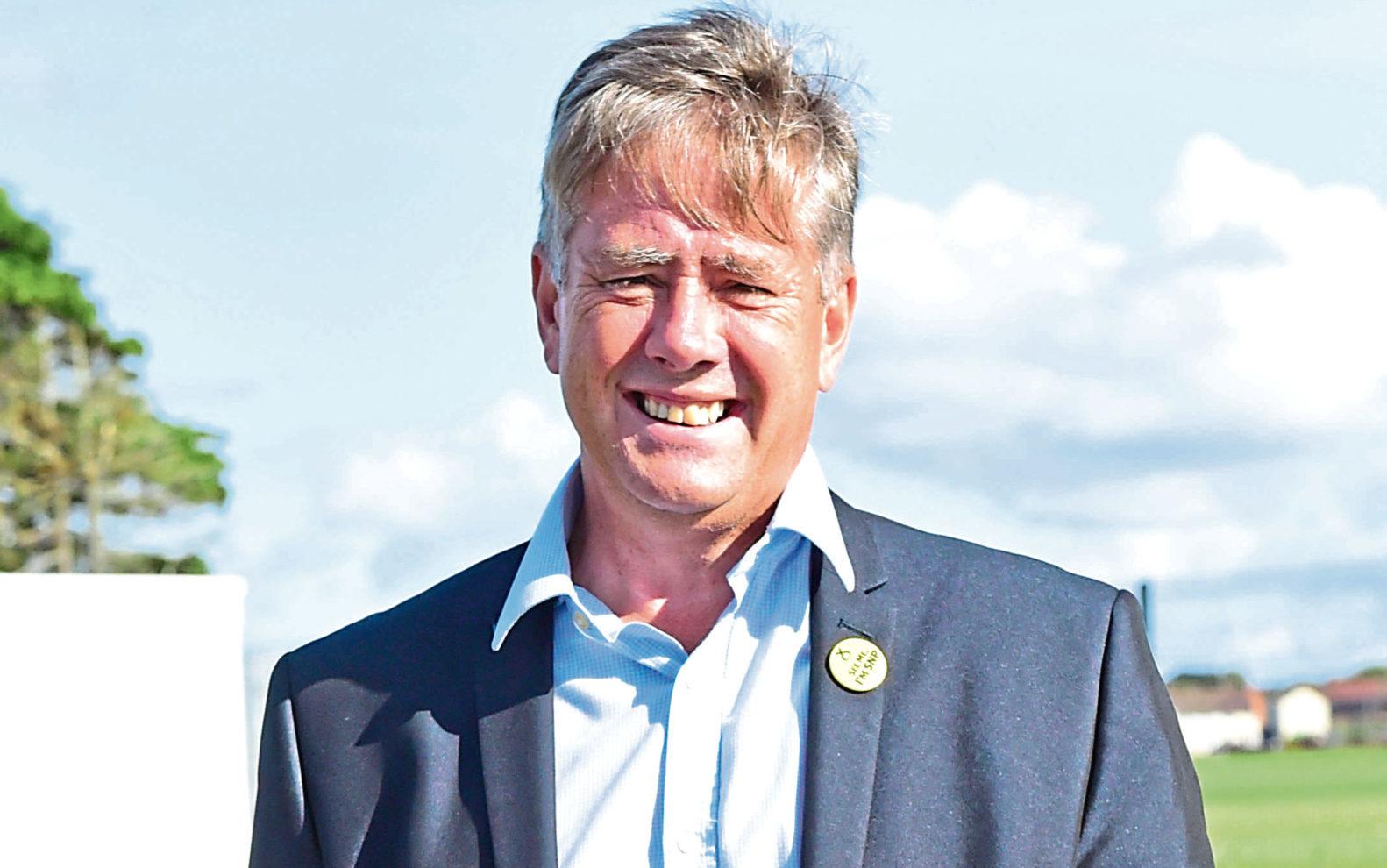 Keith Brown, depute leader of the SNP (Paul Chappells)