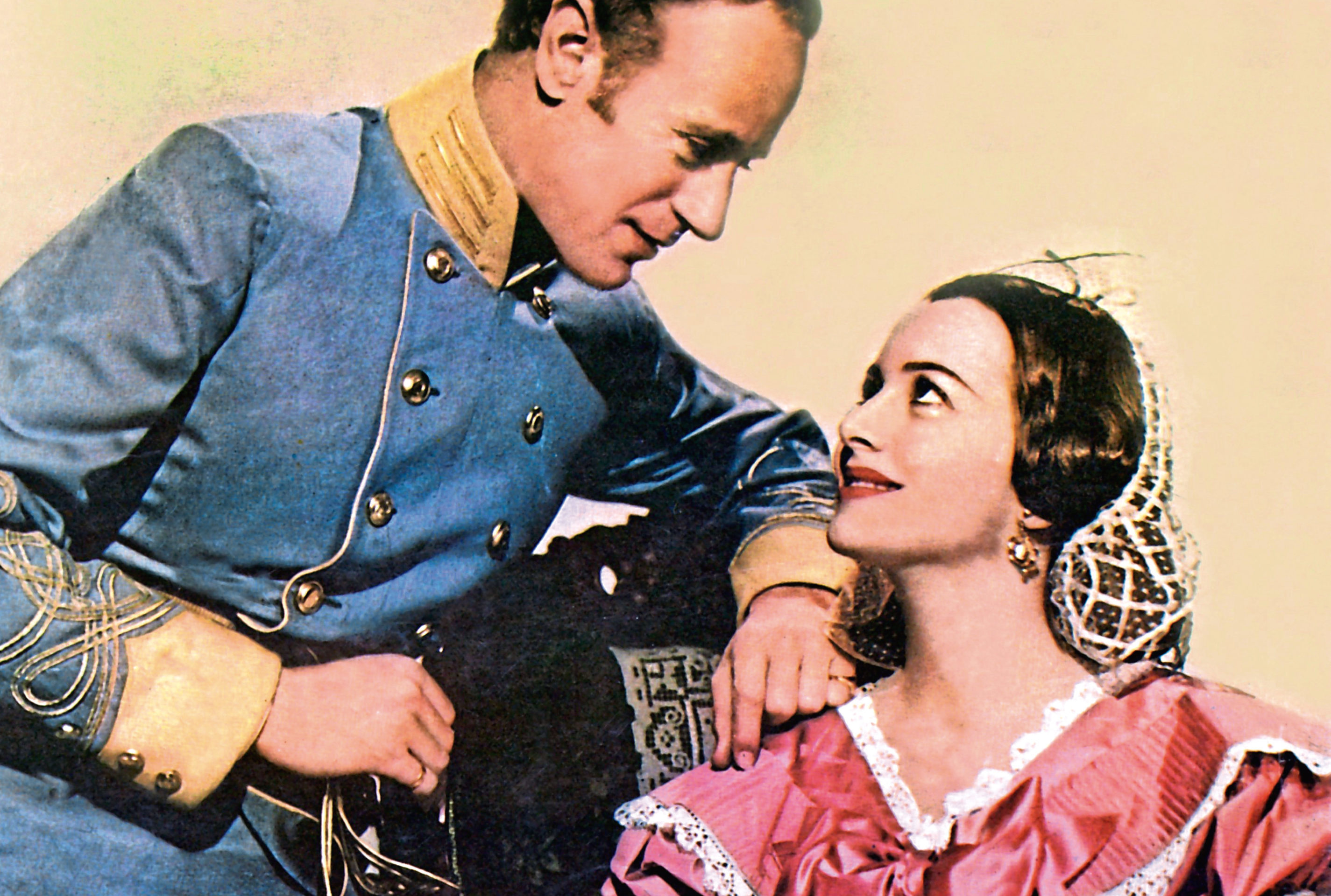 Leslie Howard and Olivia De Havilland in 1939's Gone With The Wind (Allstar/MGM)