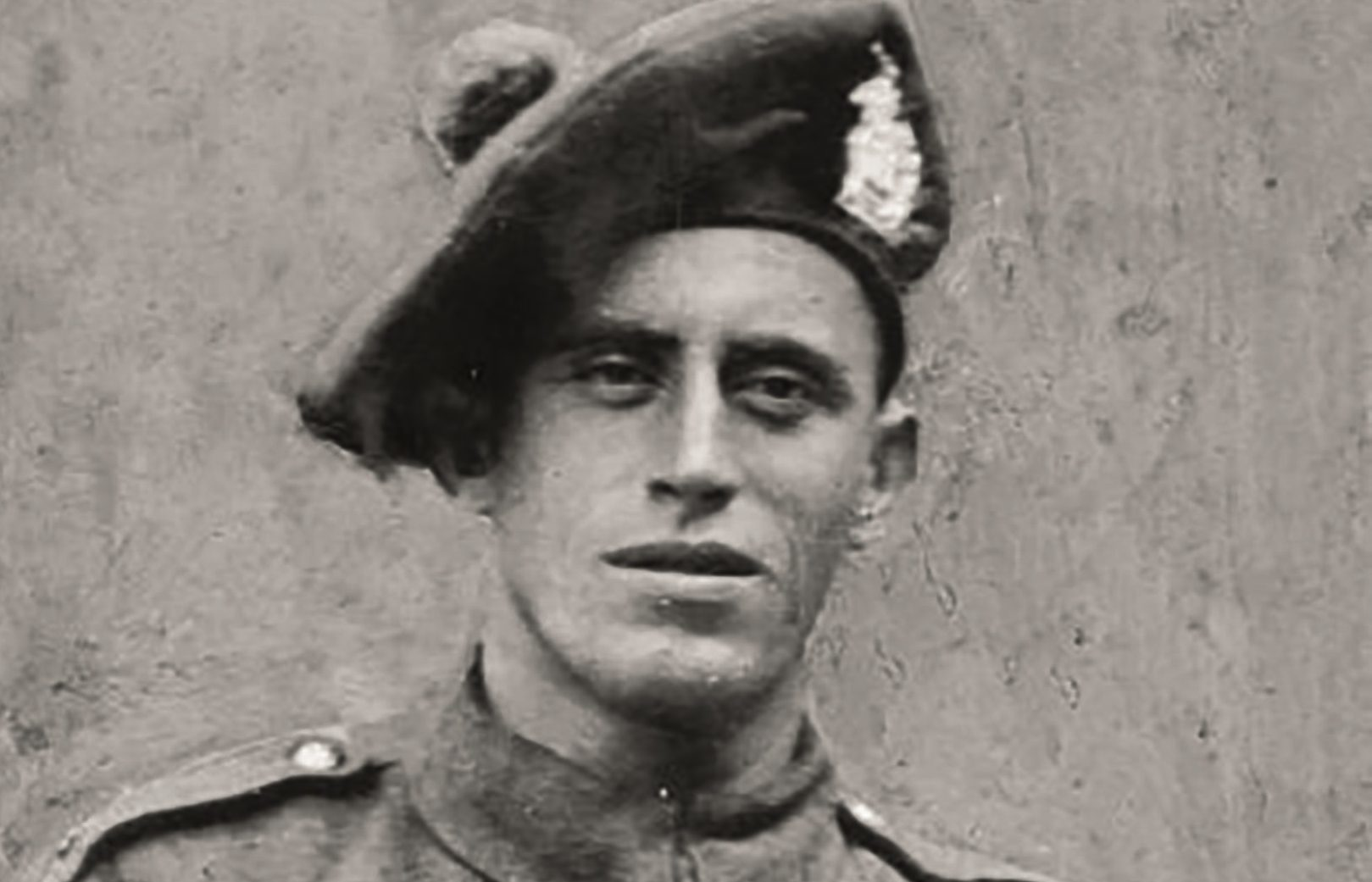 A wartime picture of Sgt Louis McGuffie VC (The King's Own Scottish Borderers Association)
