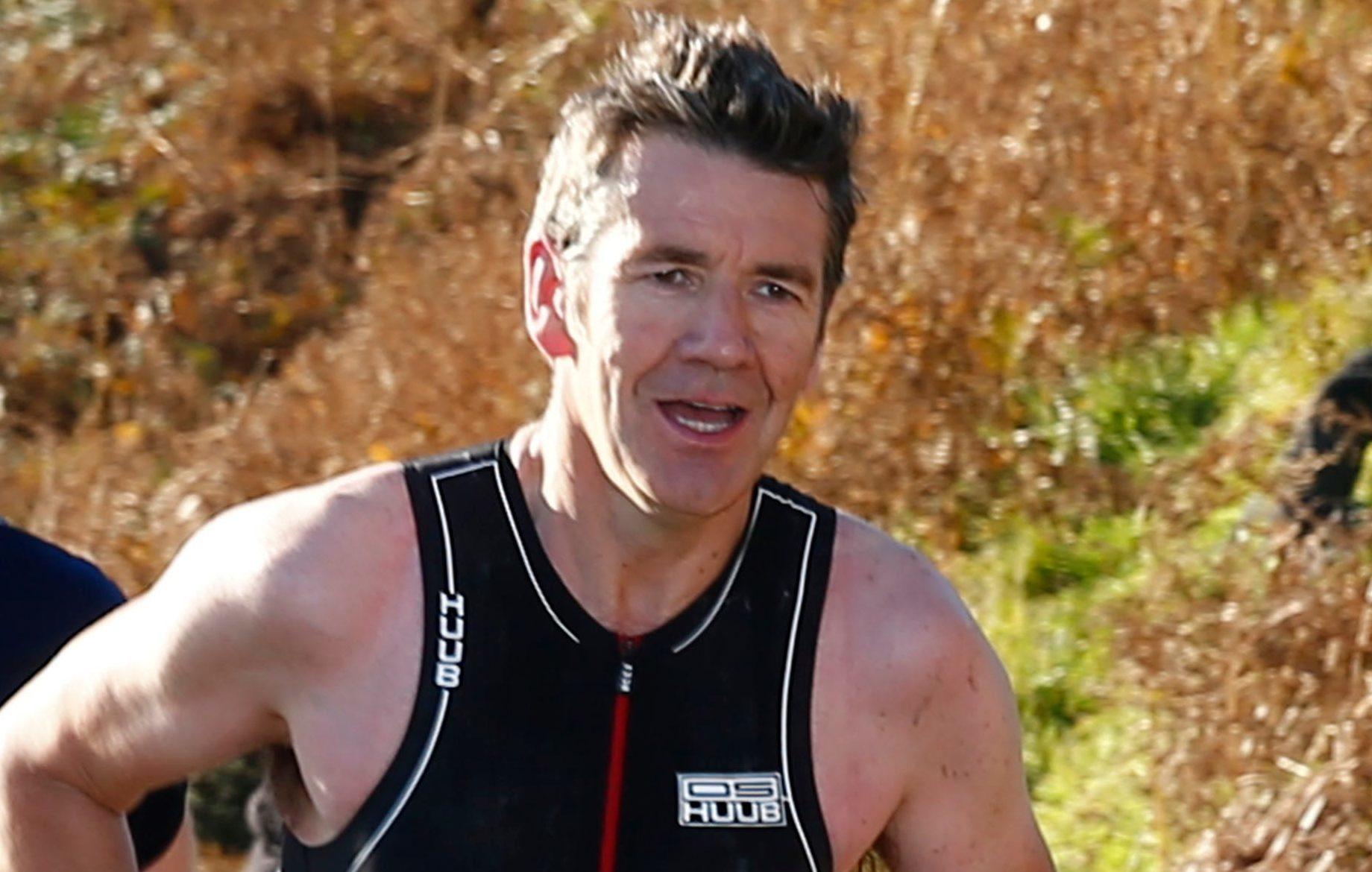 Dougie Vipond competing in The Craggy Island Triathlon on Kerrera (Stephen Lawson / Edinburgh Elite media)