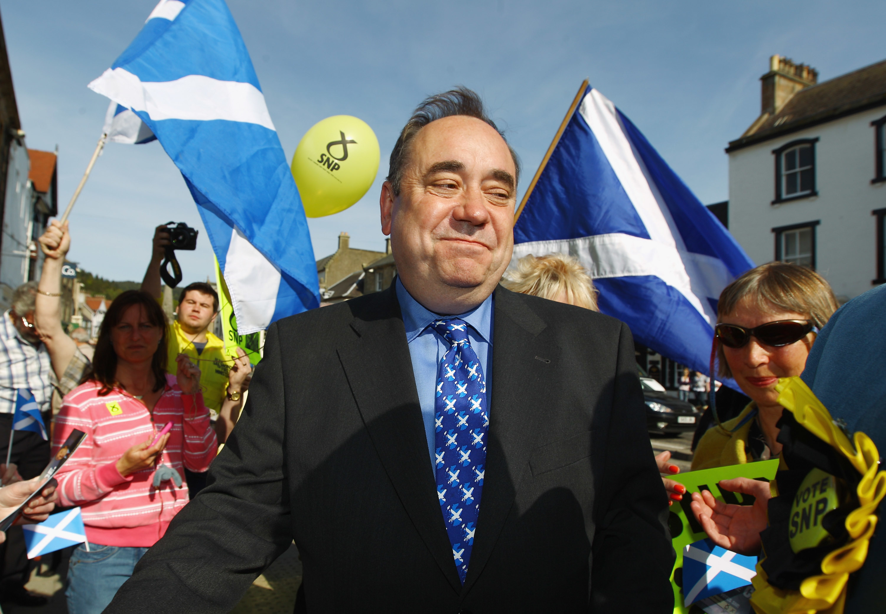 Alex Salmond (Jeff J Mitchell/Getty Images)