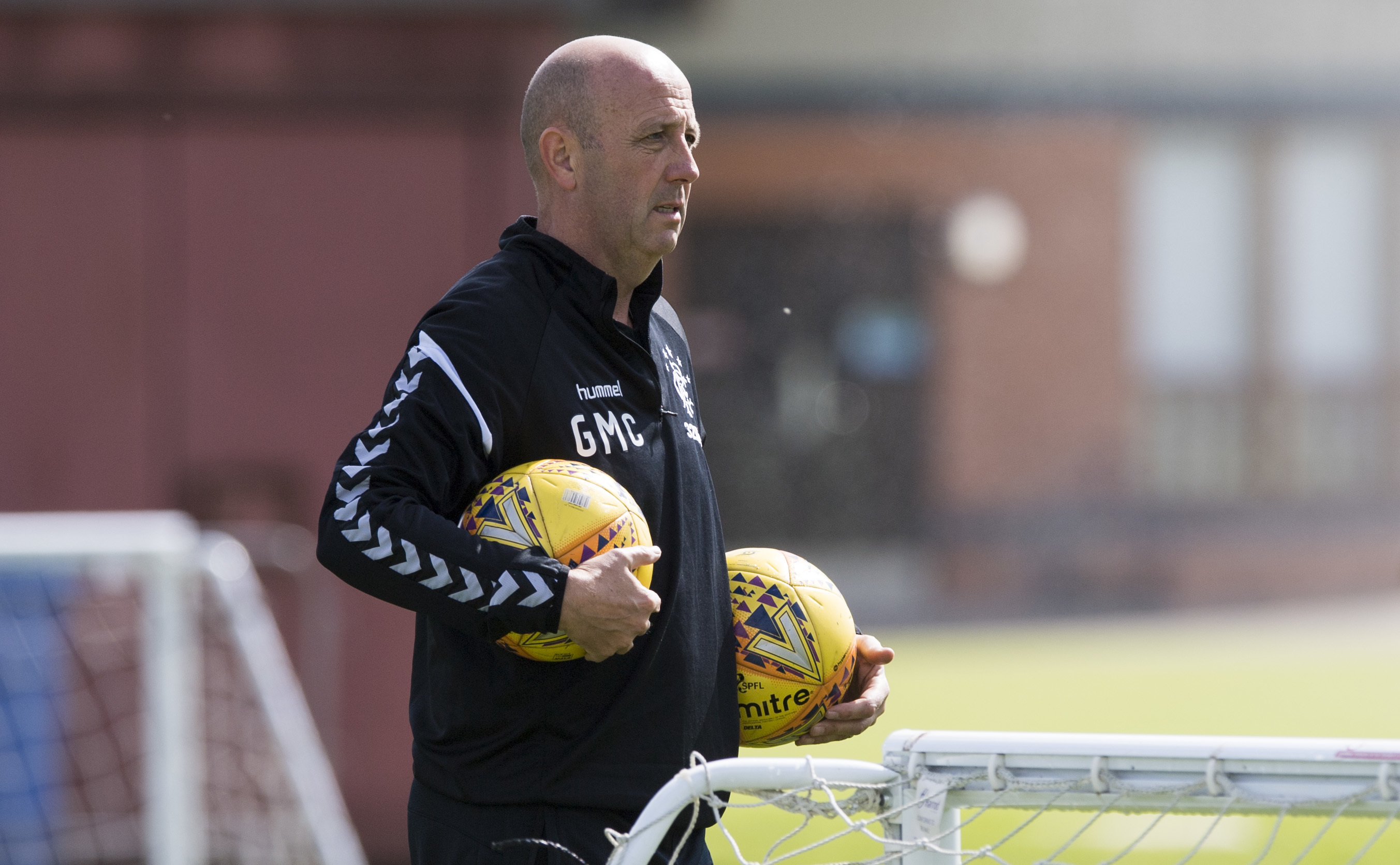 Rangers Assistant Manager Gary McAllister at training (SNS Group)