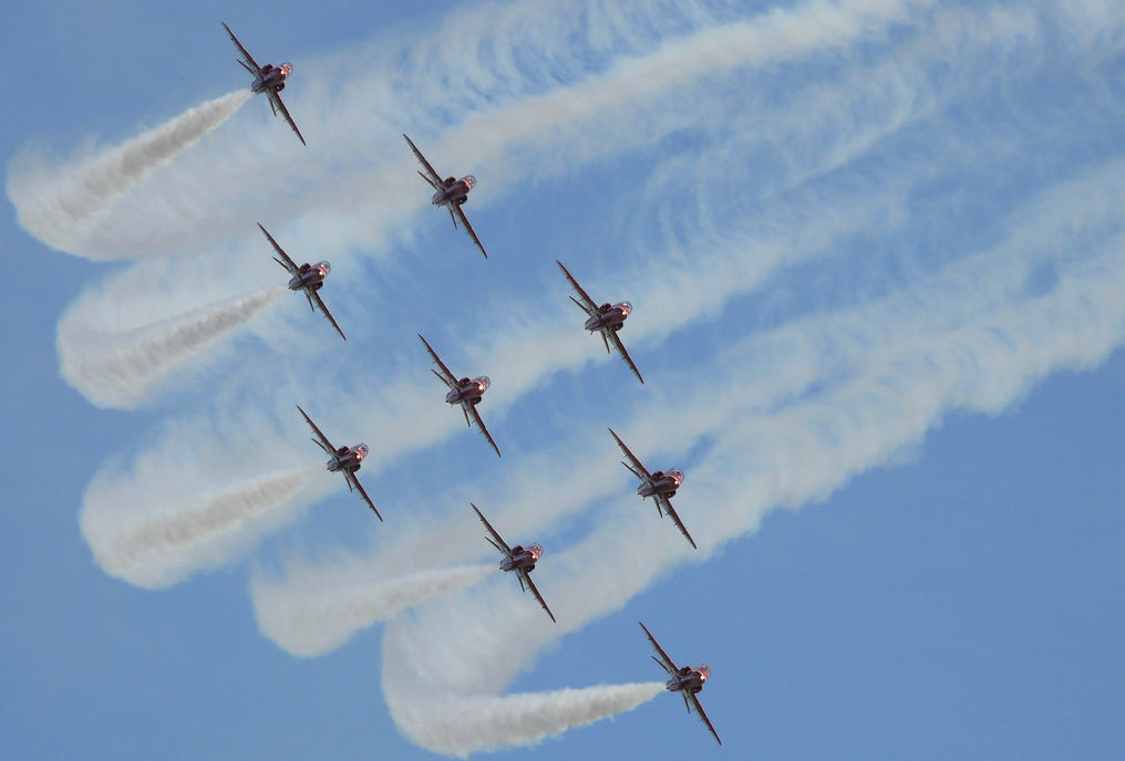 The Red Arrows (Ross Crae / DC Thomson)