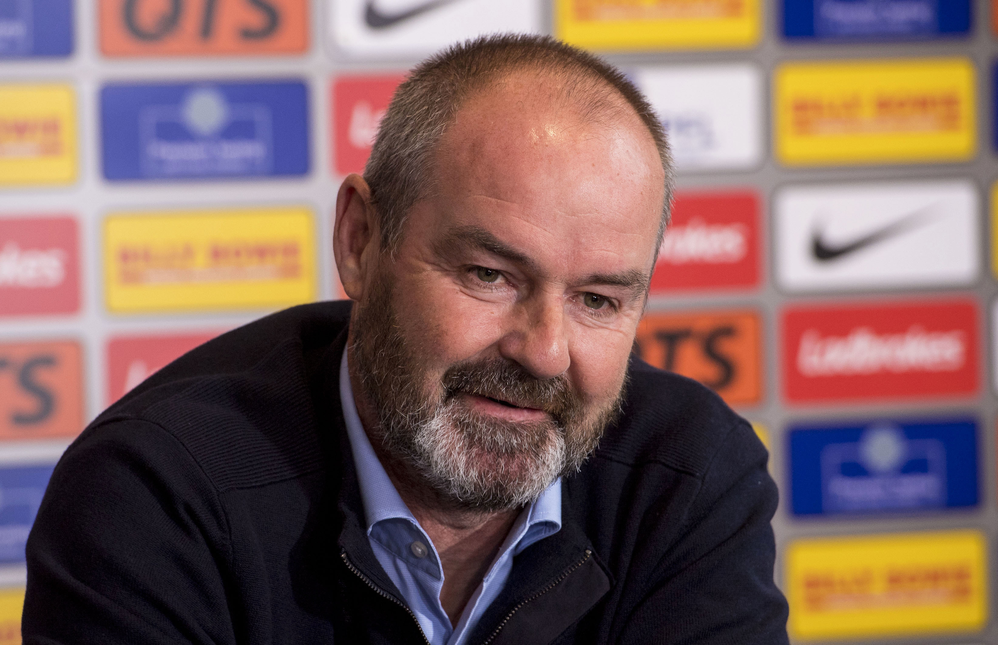 Kilmarnock manager Steve Clarke speaks to the press (SNS Group / Bill Murray)