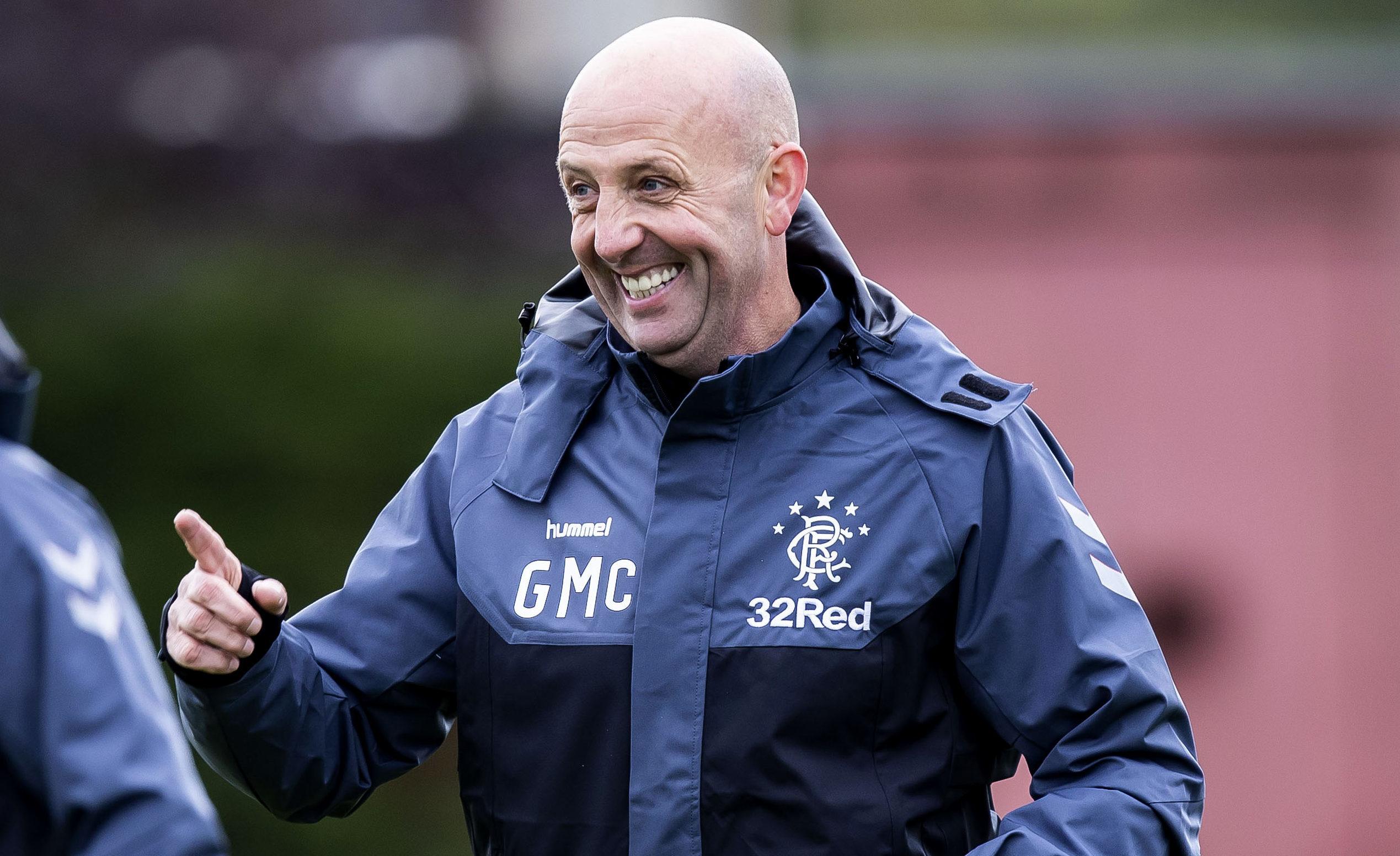 Rangers assistant manager Gary McAllister (SNS Group / Roddy Scott)