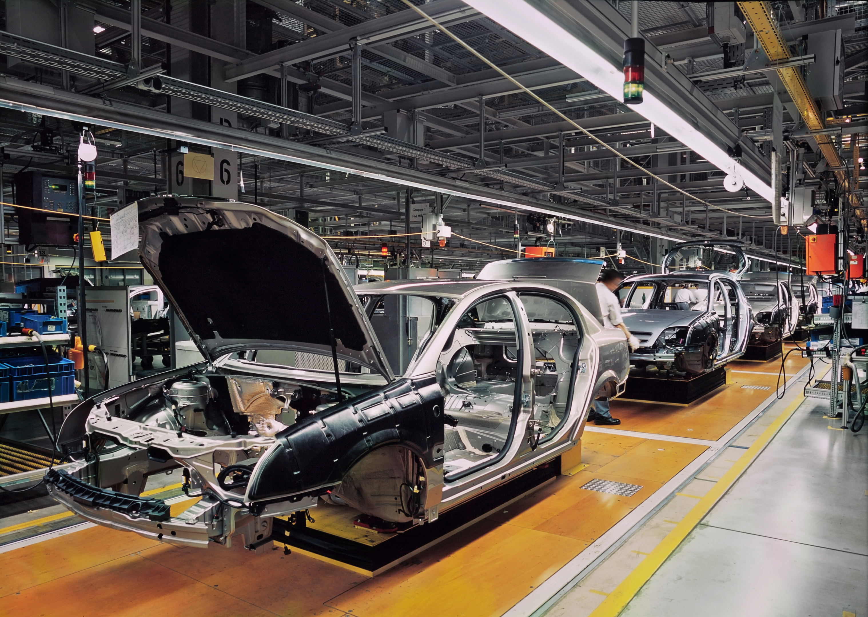 Manufacturers are becoming increasingly worried about the effects of a no-deal Brexit. (Getty images)