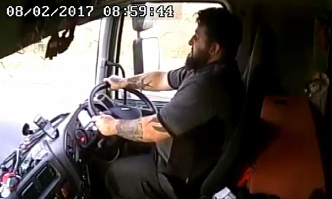 Lorry driver David Shields (Crown Office)