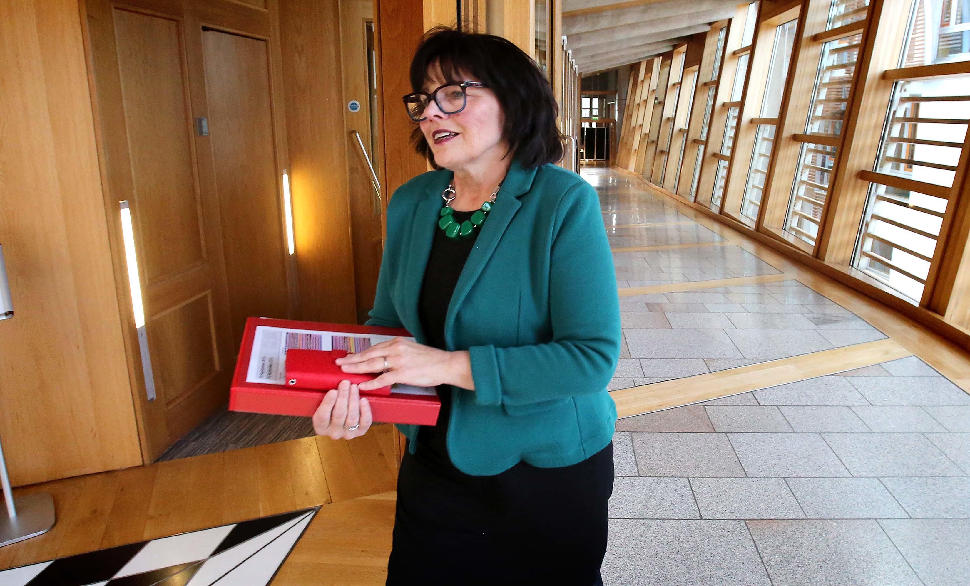 Health Secretary Jeane Freeman (Fraser Bremner)