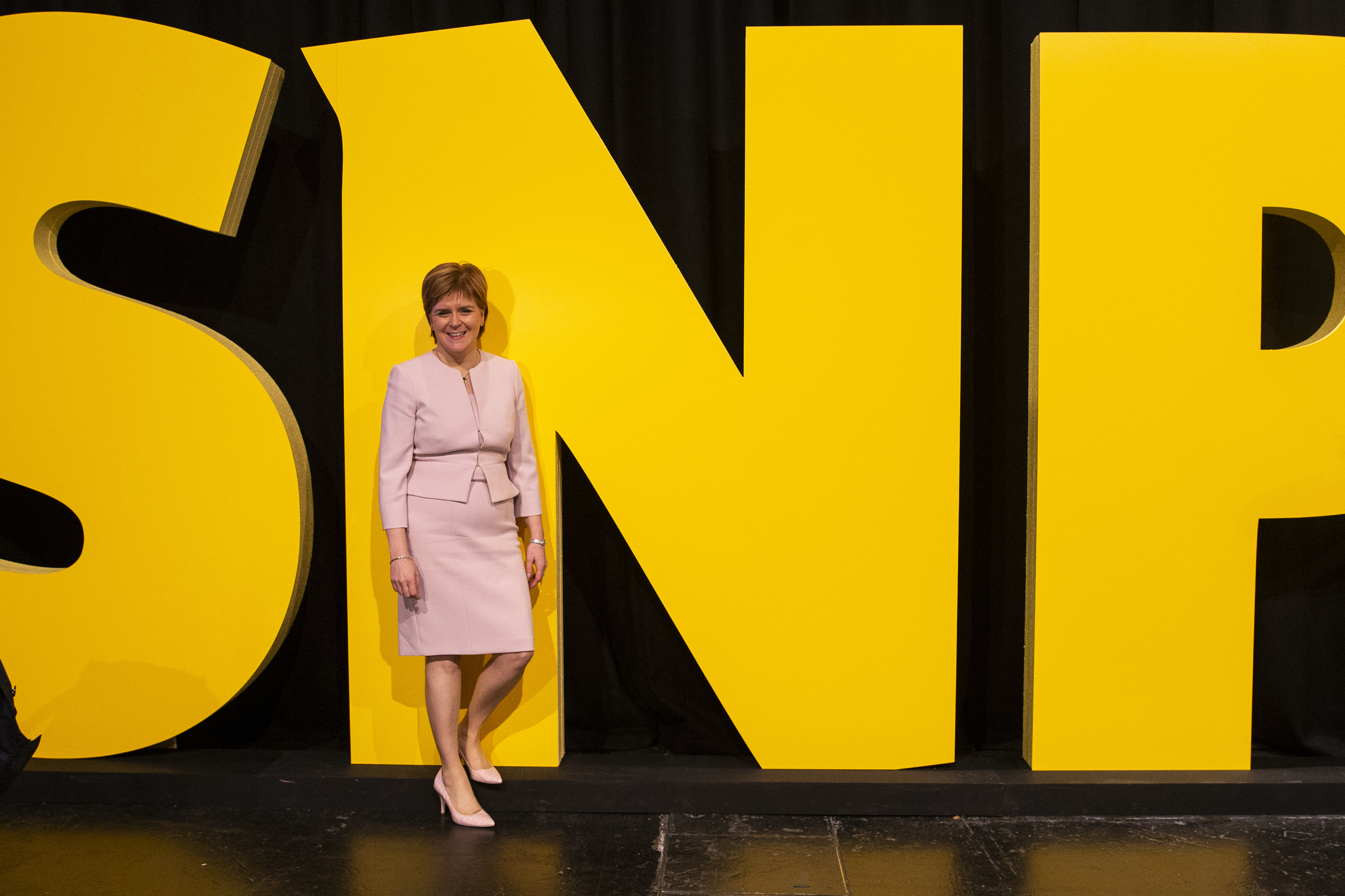 First Minister Nicola Sturgeon attends the  SNP conference (Duncan McGlynn/Getty Images)