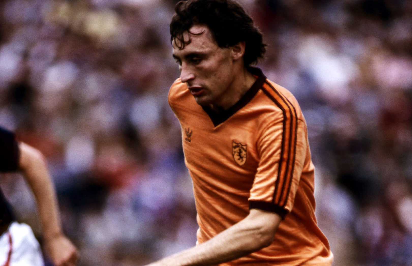 Maurice Malpas in action for Dundee Utd (SNS Group)