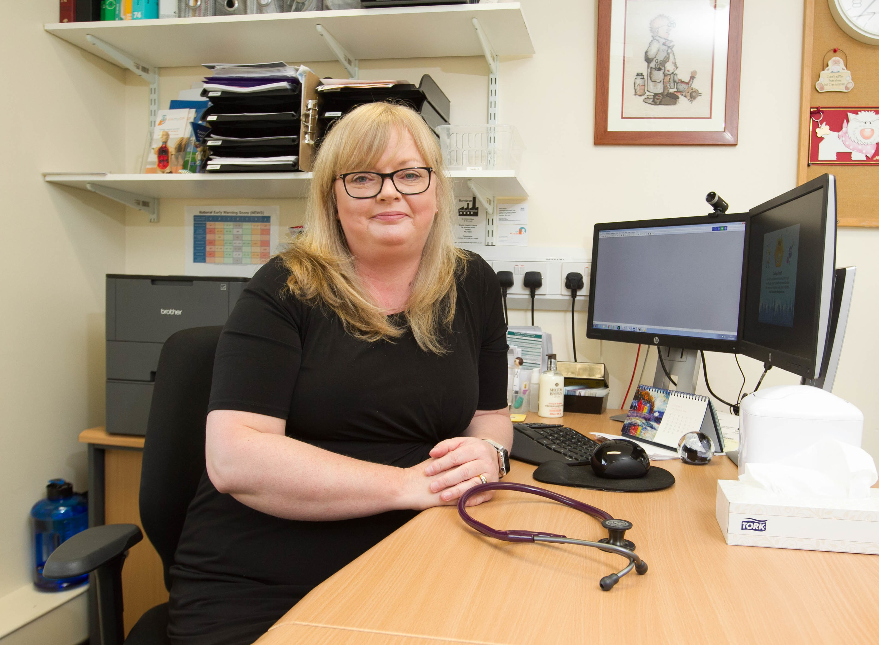 Dr Sue Arnott has been forced to ask for online sick notes (Chris Austin / DCT Media)