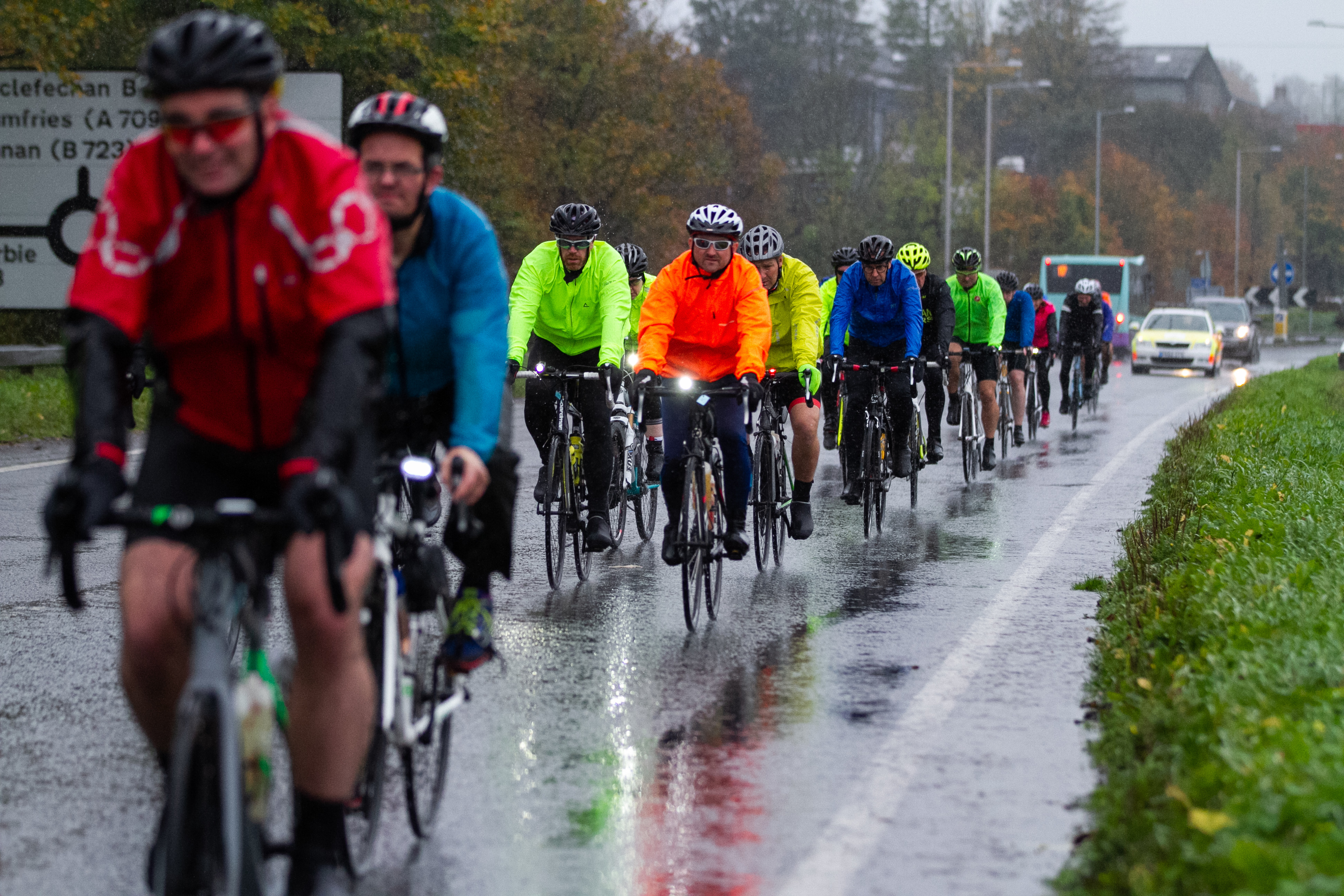 Cyclists take part in the event (Andrew Cawley / DCT Media)