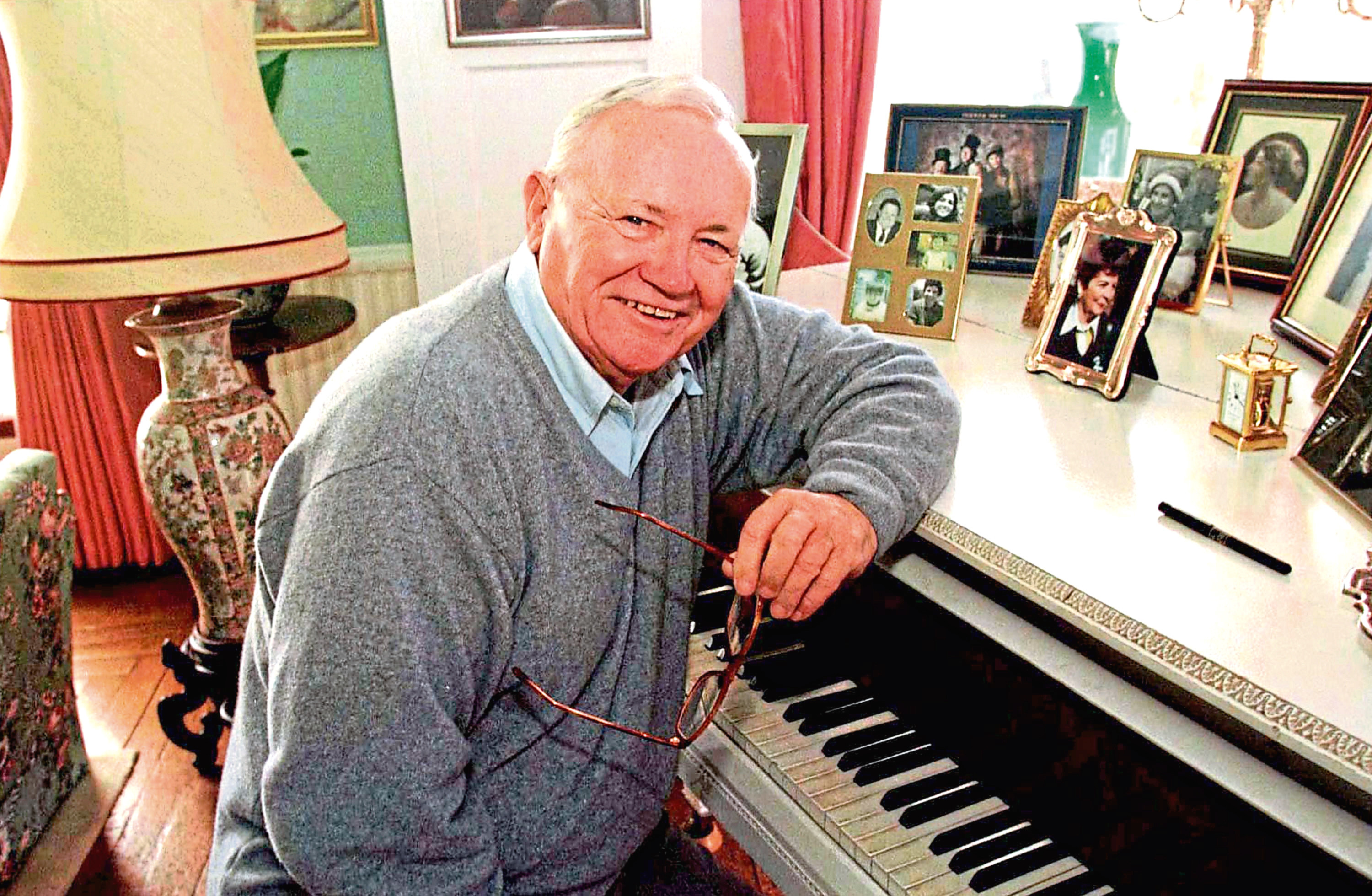Sir Harry Secombe in 1997