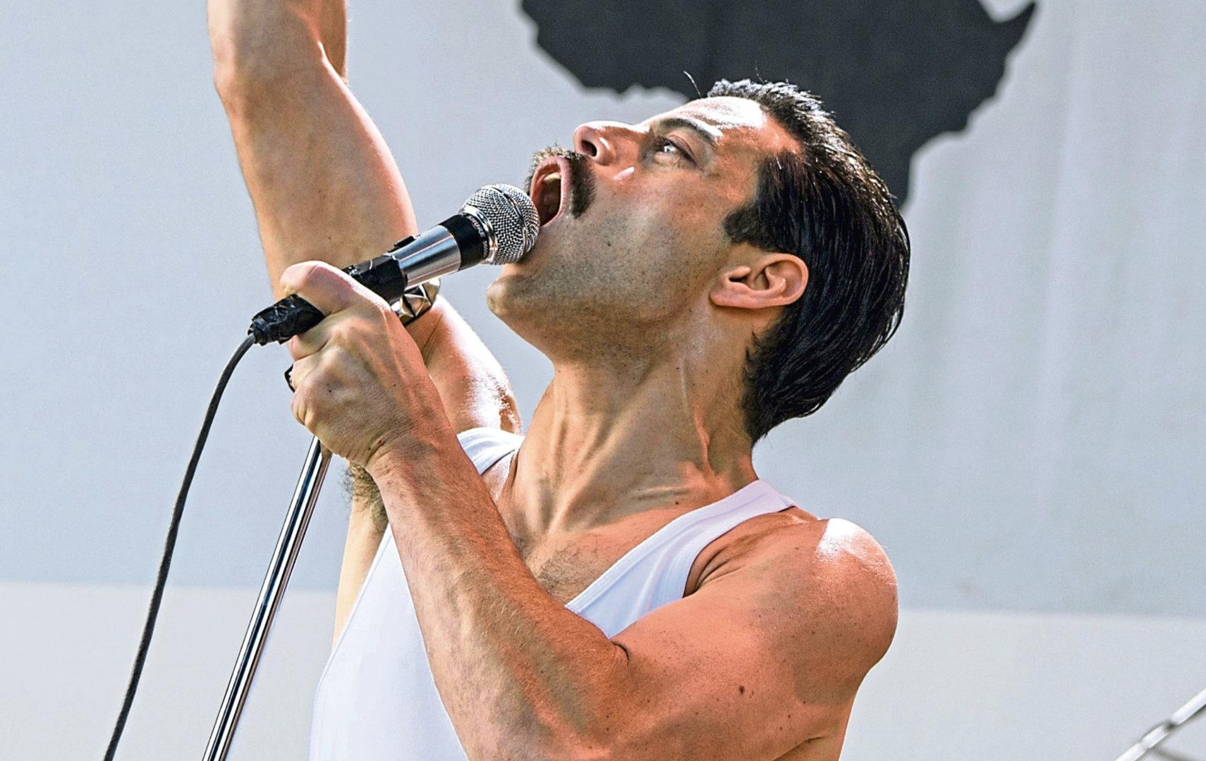 Rami Malek as Freddie Mercury (Allstar/NEW REGENCY PICTURES)