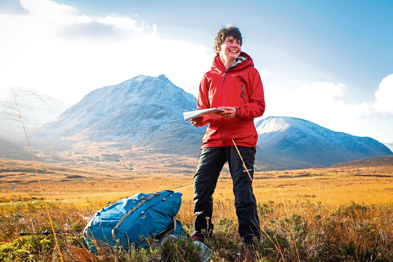 Climber Hazel Strachan