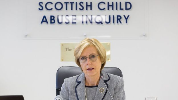 Lady Smith at the Scottish Child Abuse inquiry.