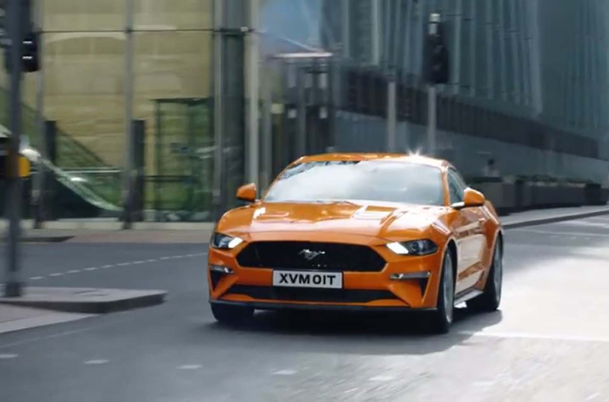Ford Mustang advert (ASA/PA Wire)