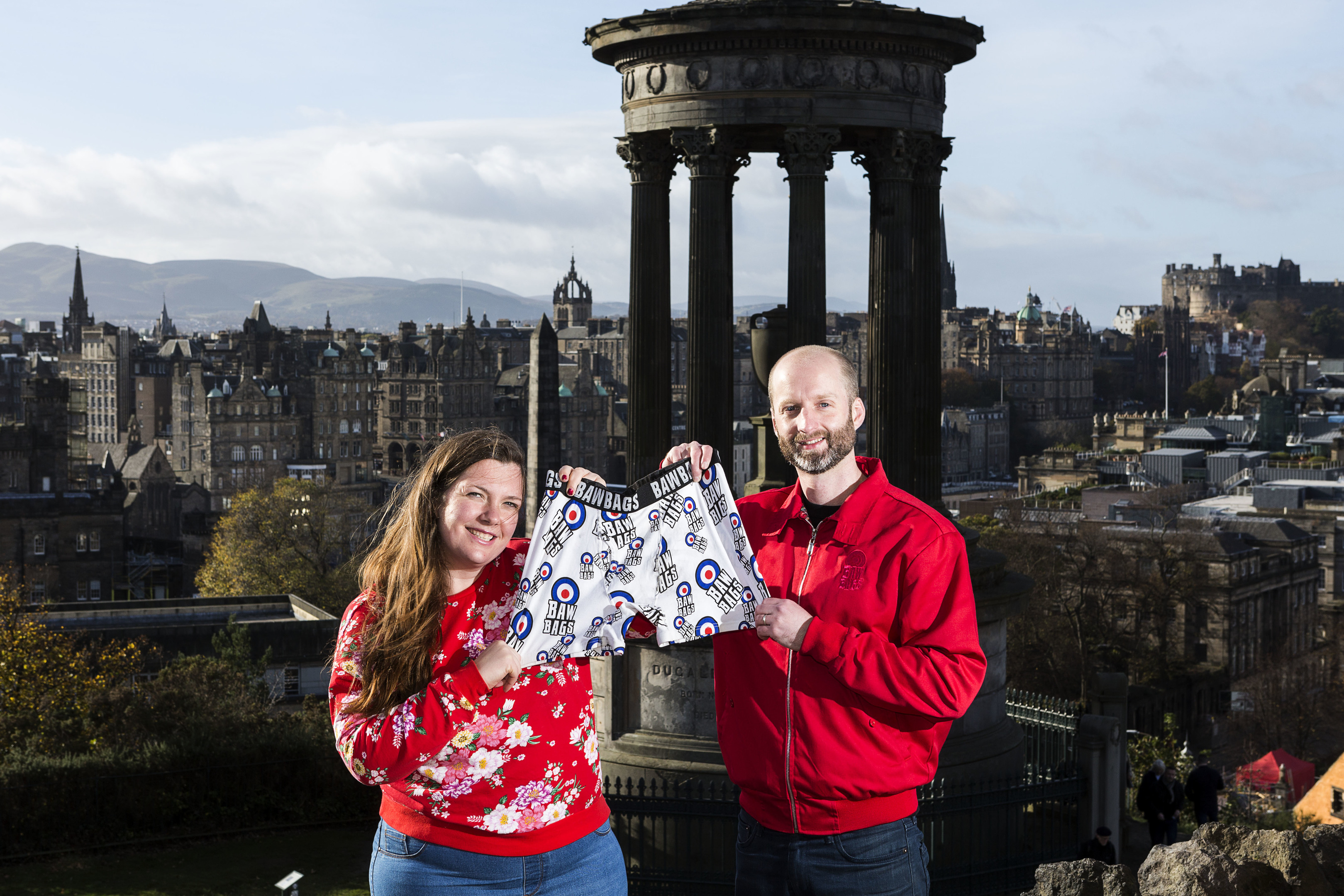 Hannah Edwards from Cyrenians and Willie MacDonald from Bawbags hope to bring an often overlooked necessity to the homeless of Scotland.
