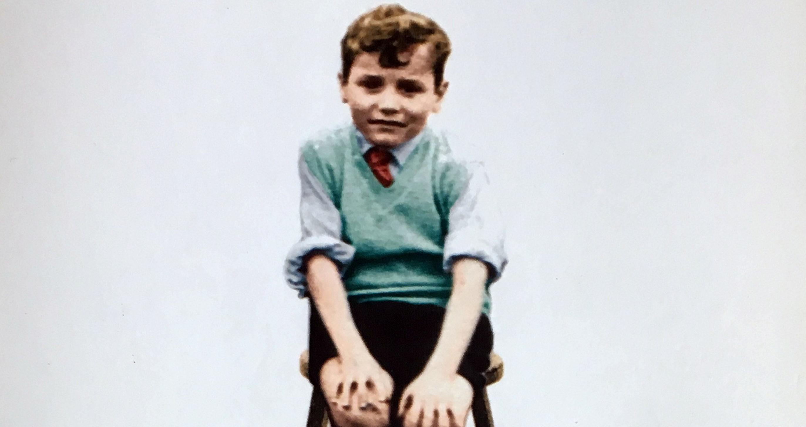 David Whelan has written a memoir about his experiences of abuse.