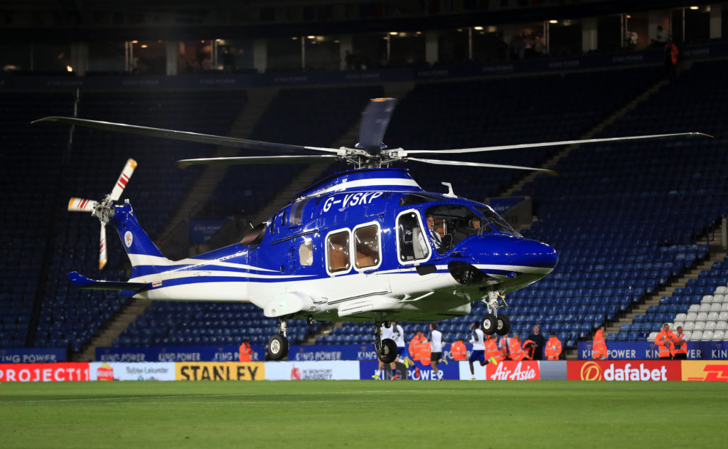 Leicester City owner's helicopter 'crashes outside stadium ...